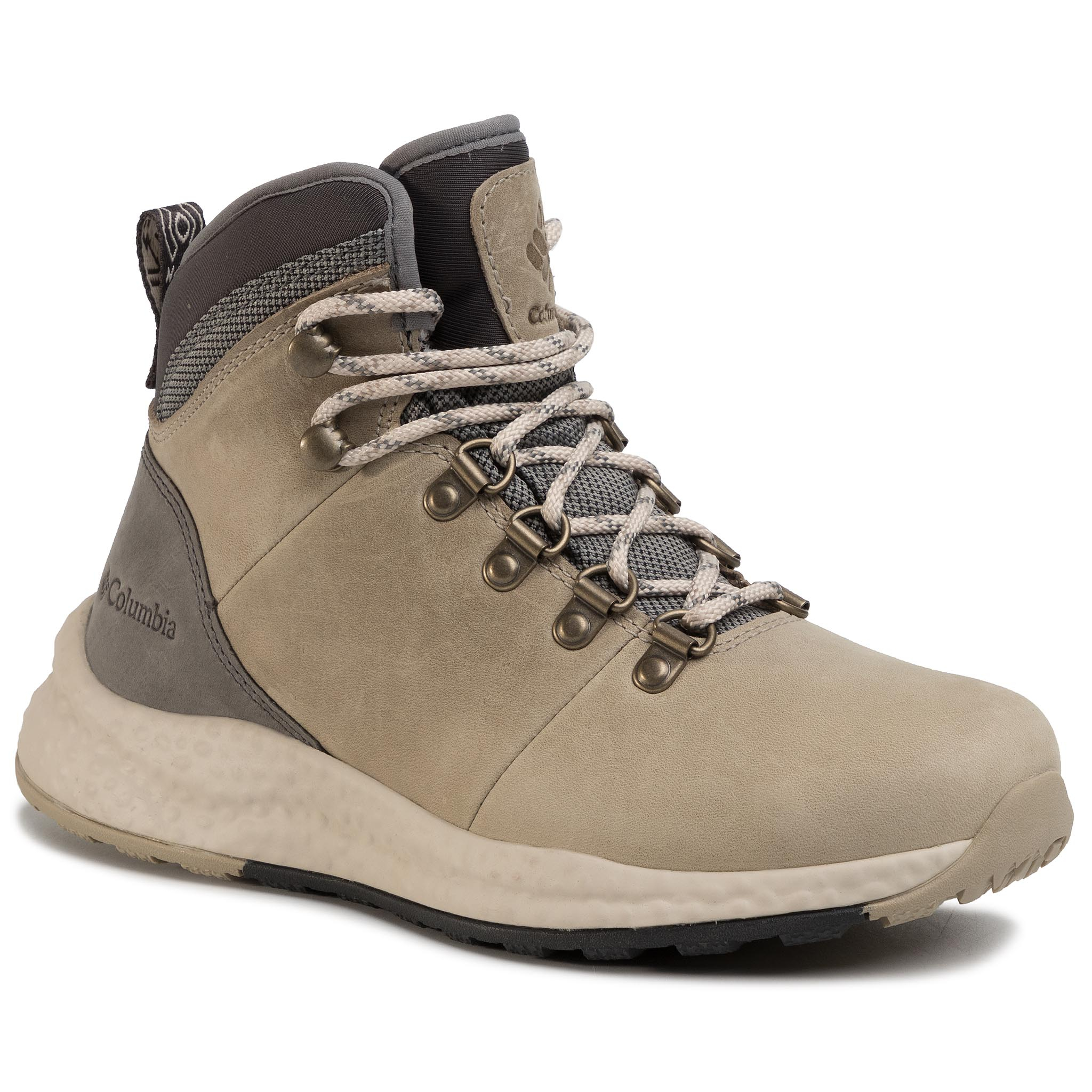 Trekkings Columbia - Sh/Ft Wp Hiker Bl0818 Canvas Tan/Dark Stone 247 imagine epantofi.ro 2021