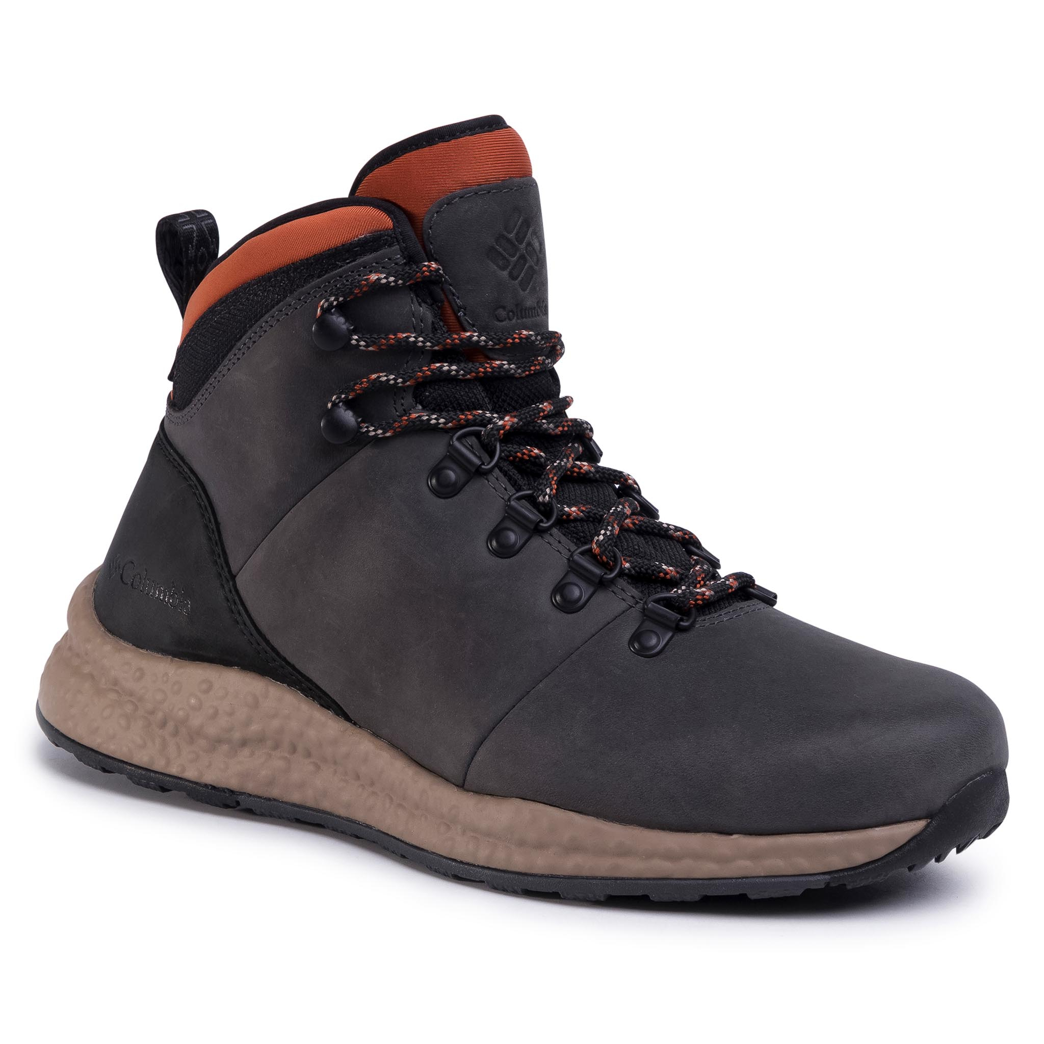 Trekkings Columbia - Sh/Ft Wp Hiker Bm0818 Dark Grey/Dark Adobe 089 imagine epantofi.ro 2021