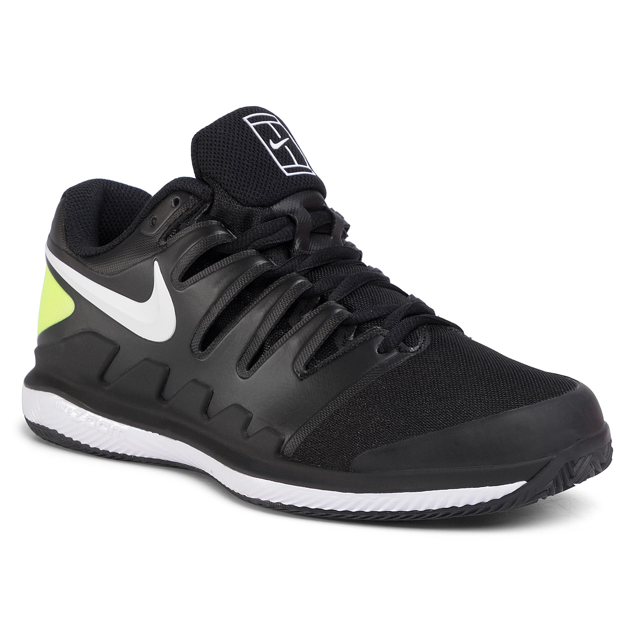 Pantofi Nike - Air Zoom Vapor X Cly Aa8021 009 Black/White/Volt imagine epantofi.ro 2021