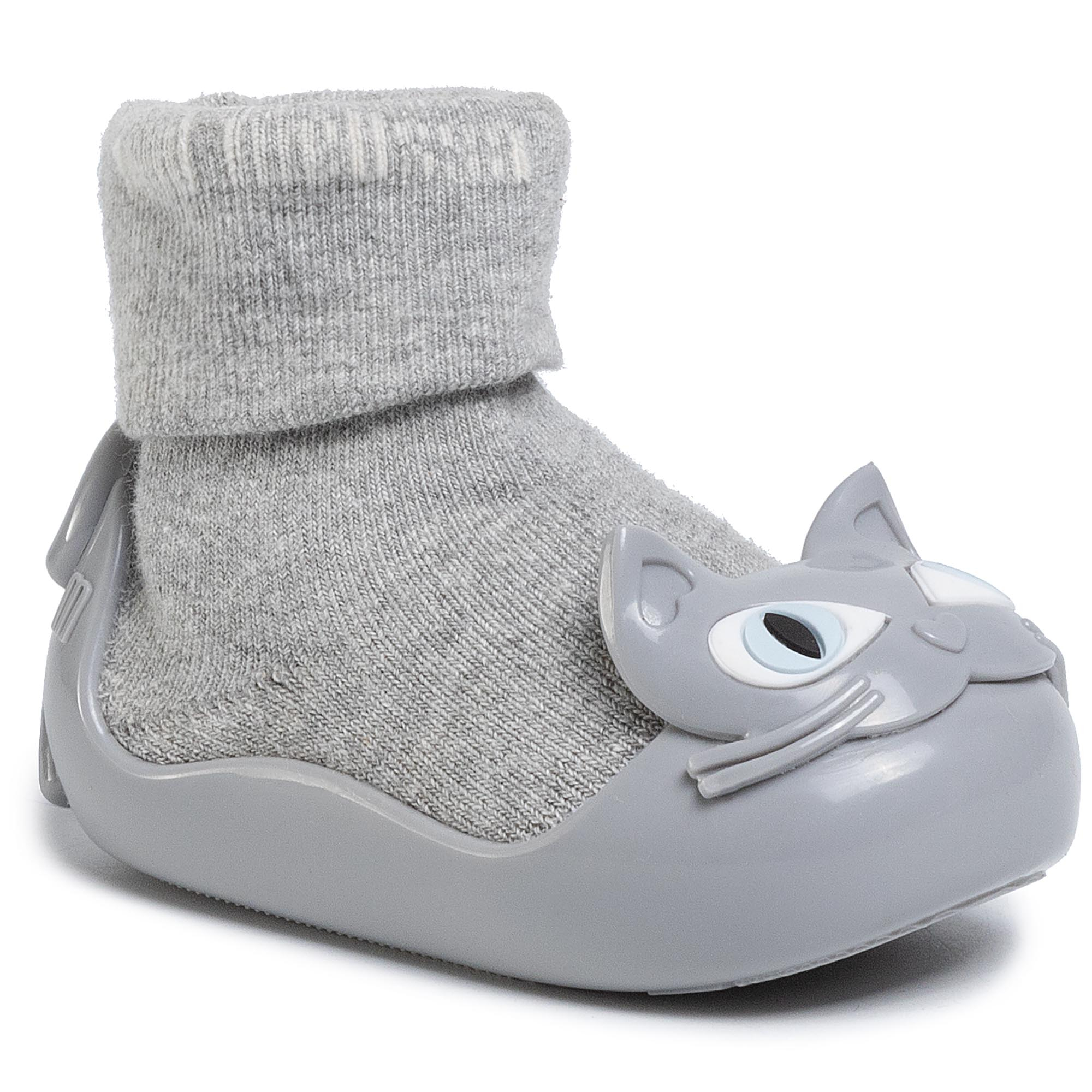 Ghete MELISSA - Mini Melissa Alpha Play Bb 32836 Grey Gun Op 16458