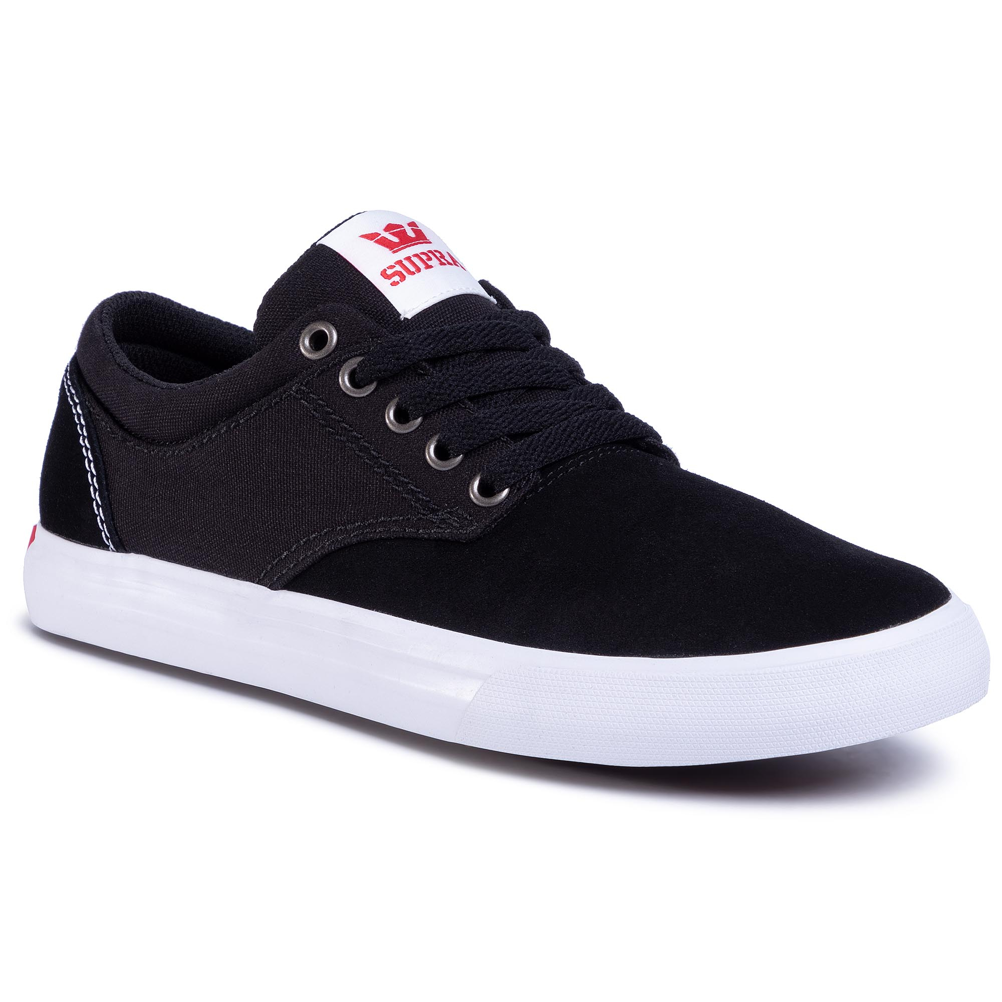 Teniși Supra - Chino 08051-035-M Black/Red/White imagine epantofi.ro 2021