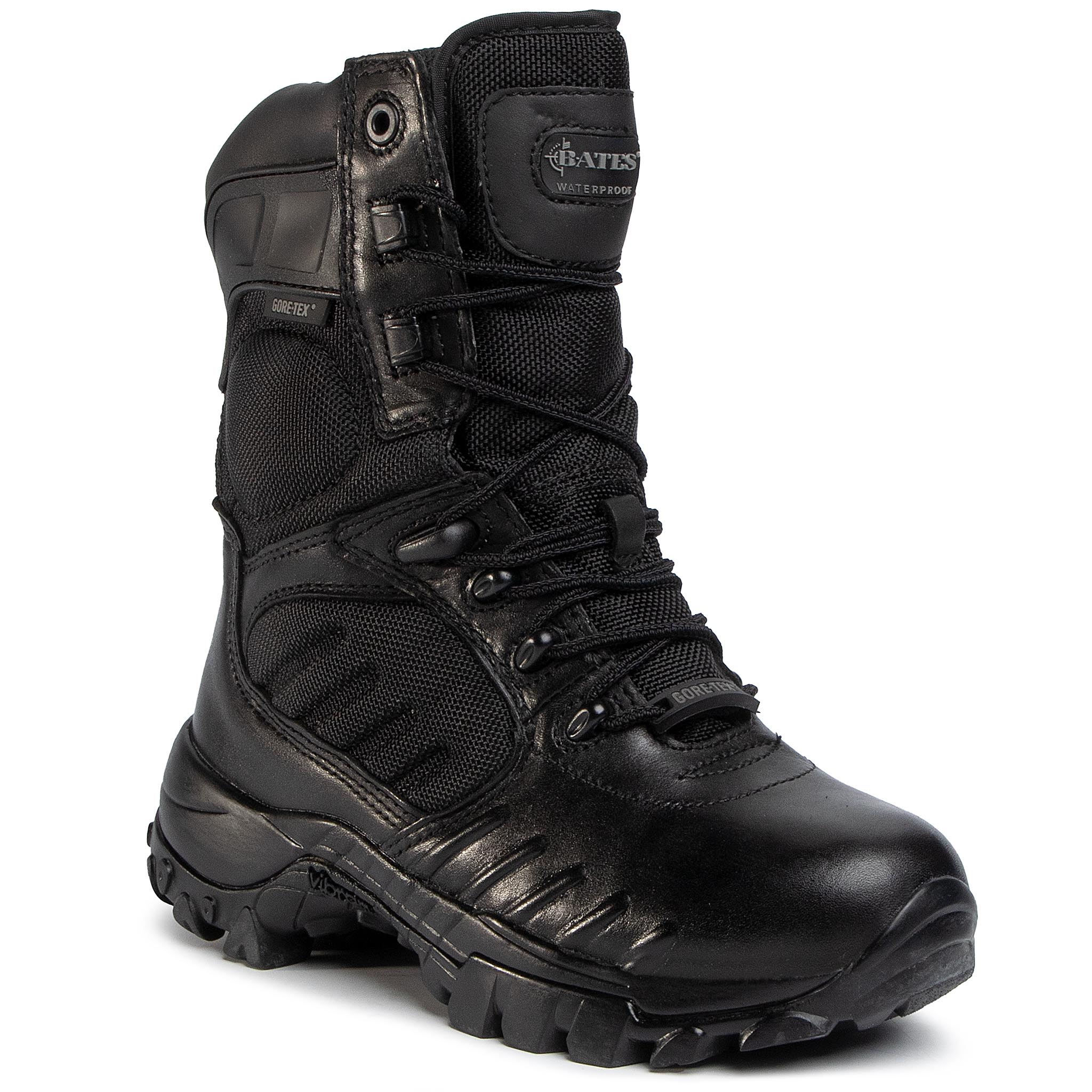 "Pantofi Bates - Enforcer Cts 9"" Lace Gore-Tex E02400 Black imagine epantofi.ro 2021"
