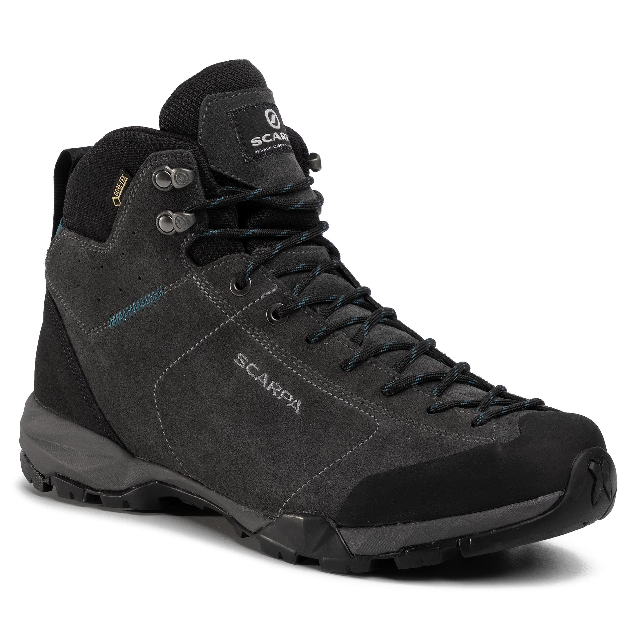 Trekkings Scarpa - Mojito Hike Gtx Gore-Tex 63311-200 Shark/Lake Blue imagine epantofi.ro 2021