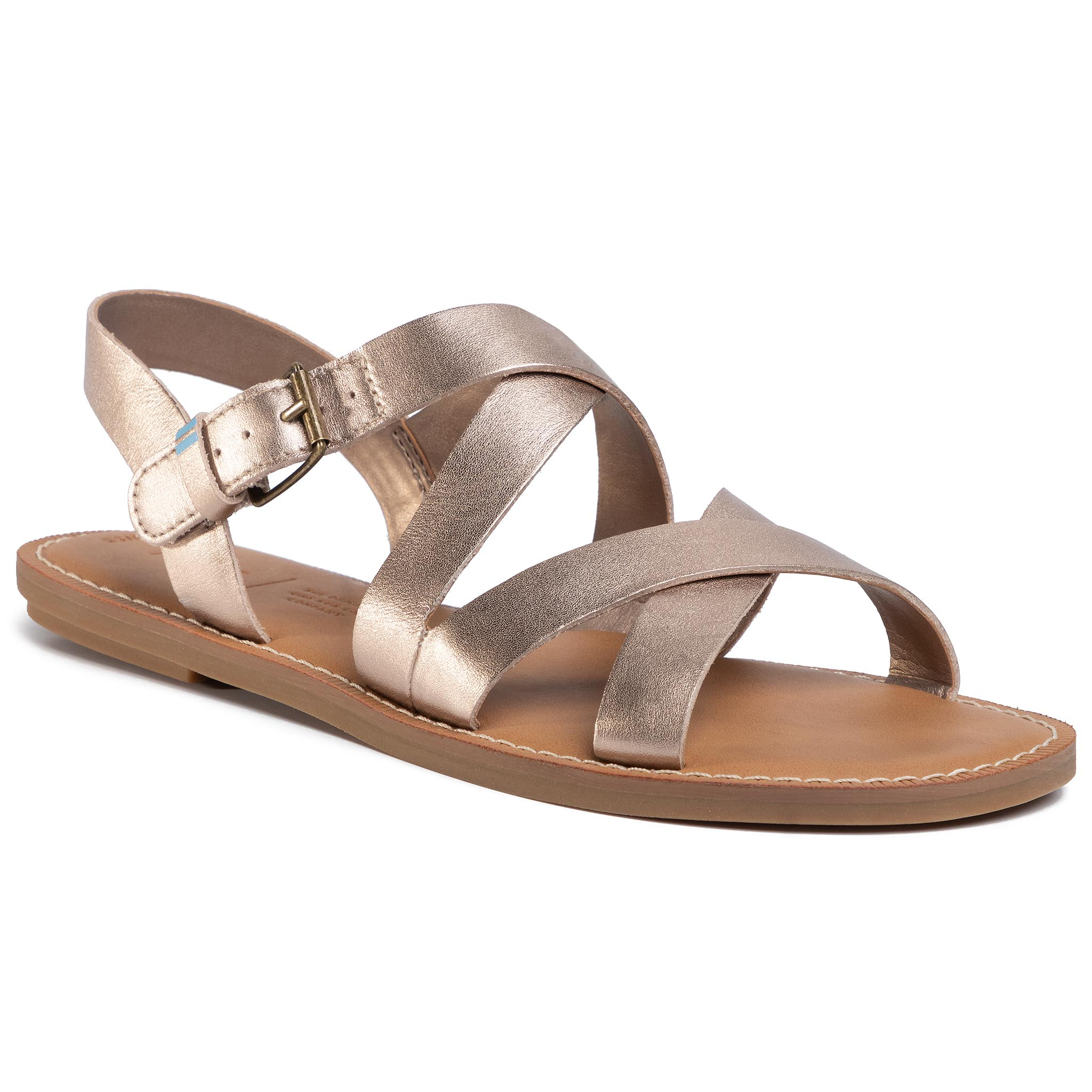Sandale TOMS - Sicily 10015120 Rose Gold Metallic Leather