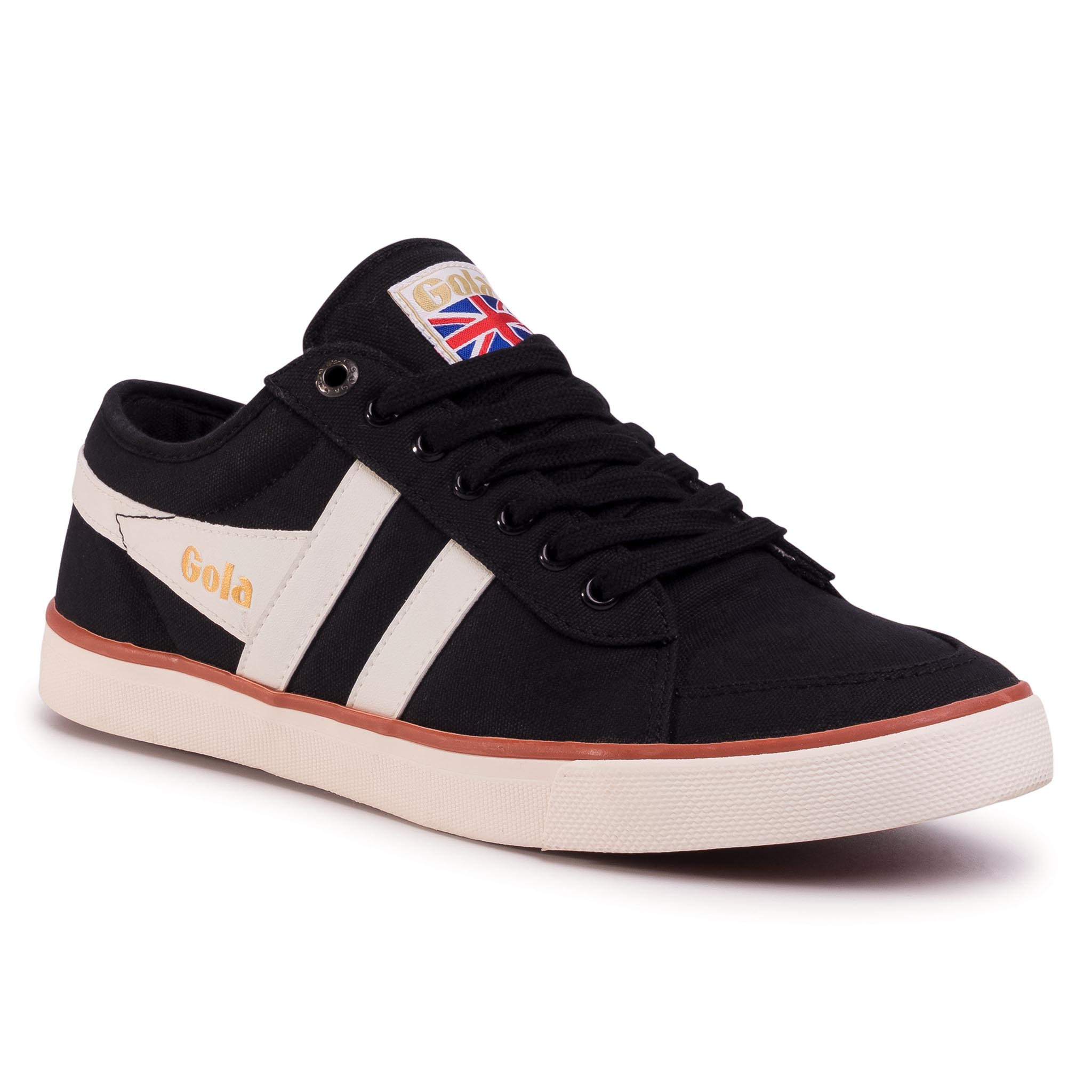 Teniși Gola - Comet Cma516 Black/Off Wht/Moody Orange imagine epantofi.ro 2021