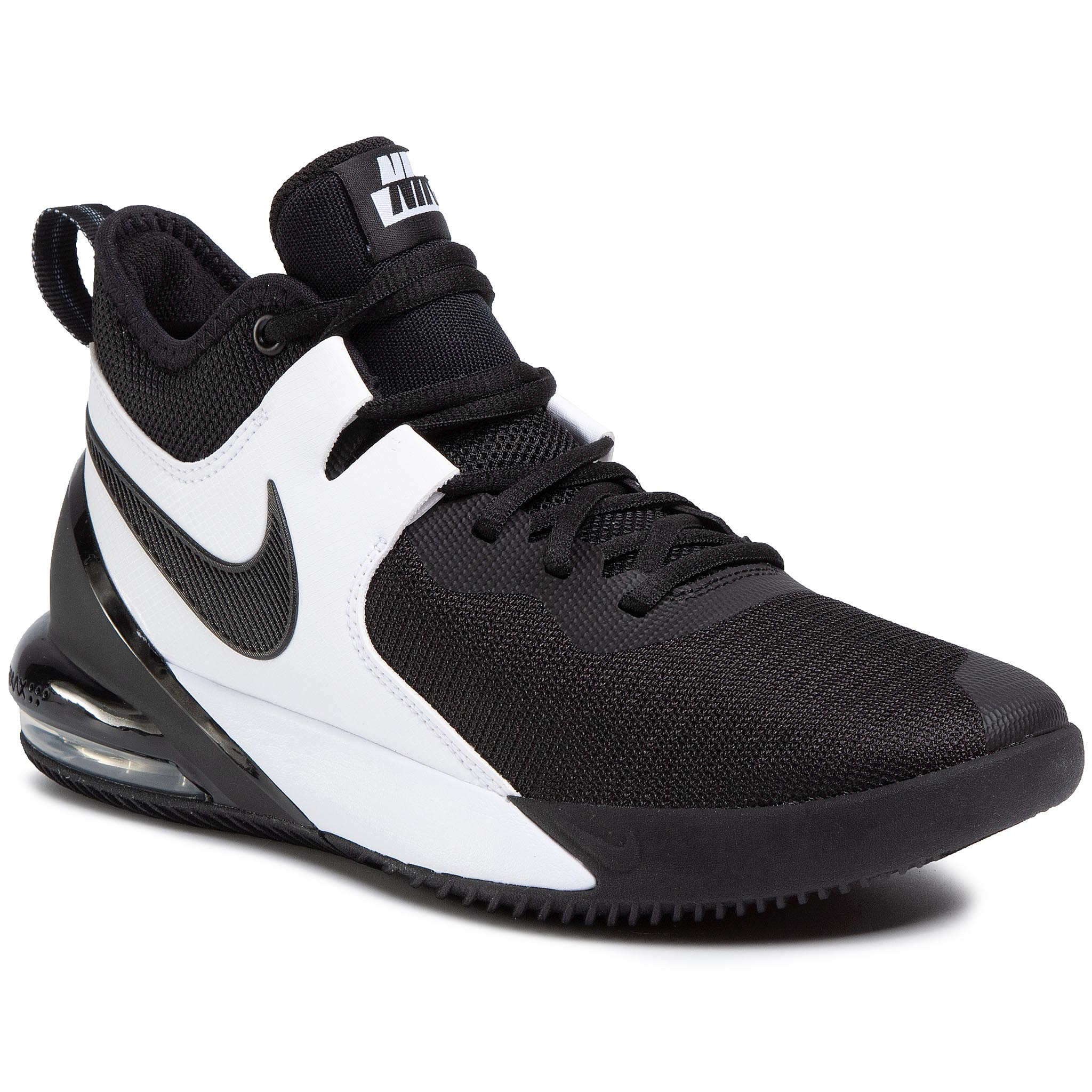 Pantofi Nike - Air Max Impact Ci1396 004 Black/Black/White imagine