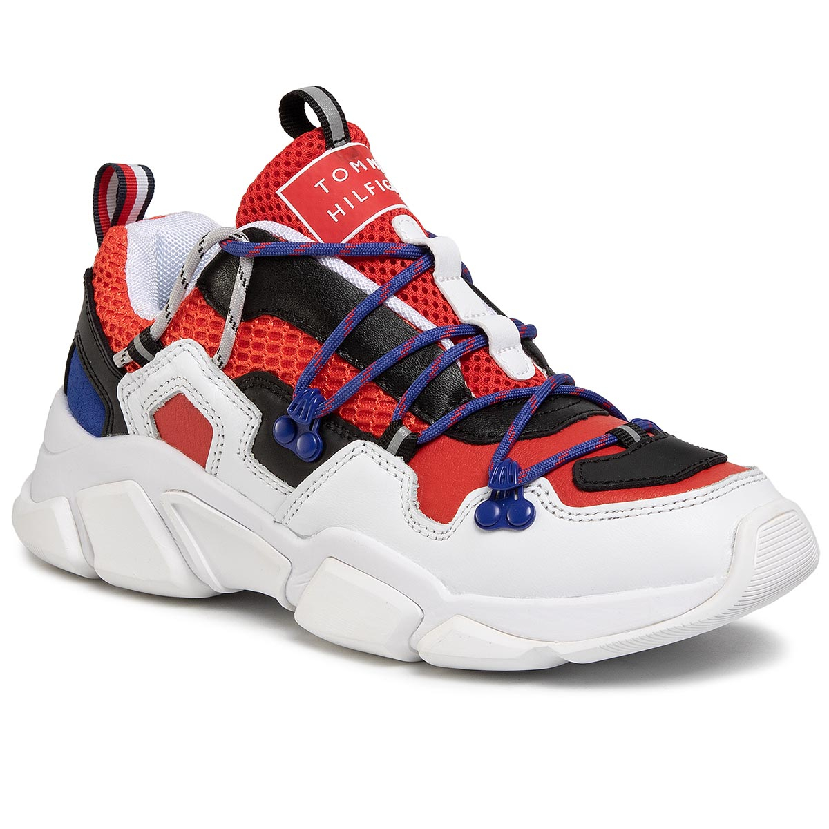 Sneakers TOMMY HILFIGER - City Voyager Chunky Sneaker FW0FW04610 Rwb 0K5 New