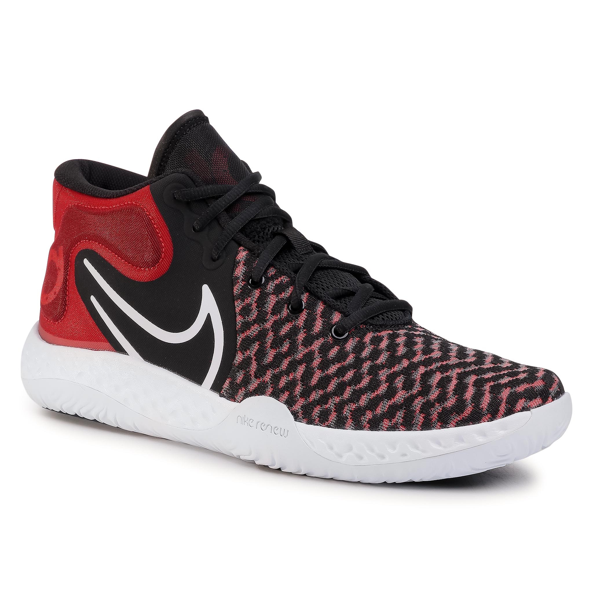 Pantofi Nike - Kd Trey 5 Viii Ck2090 002 Black/White/University Red imagine