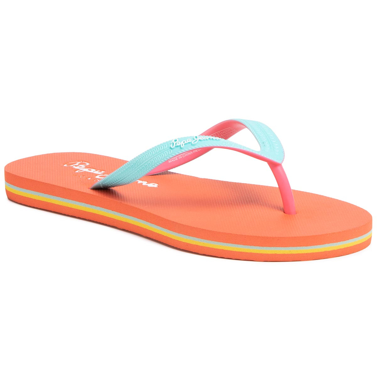 Flip flop PEPE JEANS - Beach Basic Girl PGS70032 Light Turquoise 517