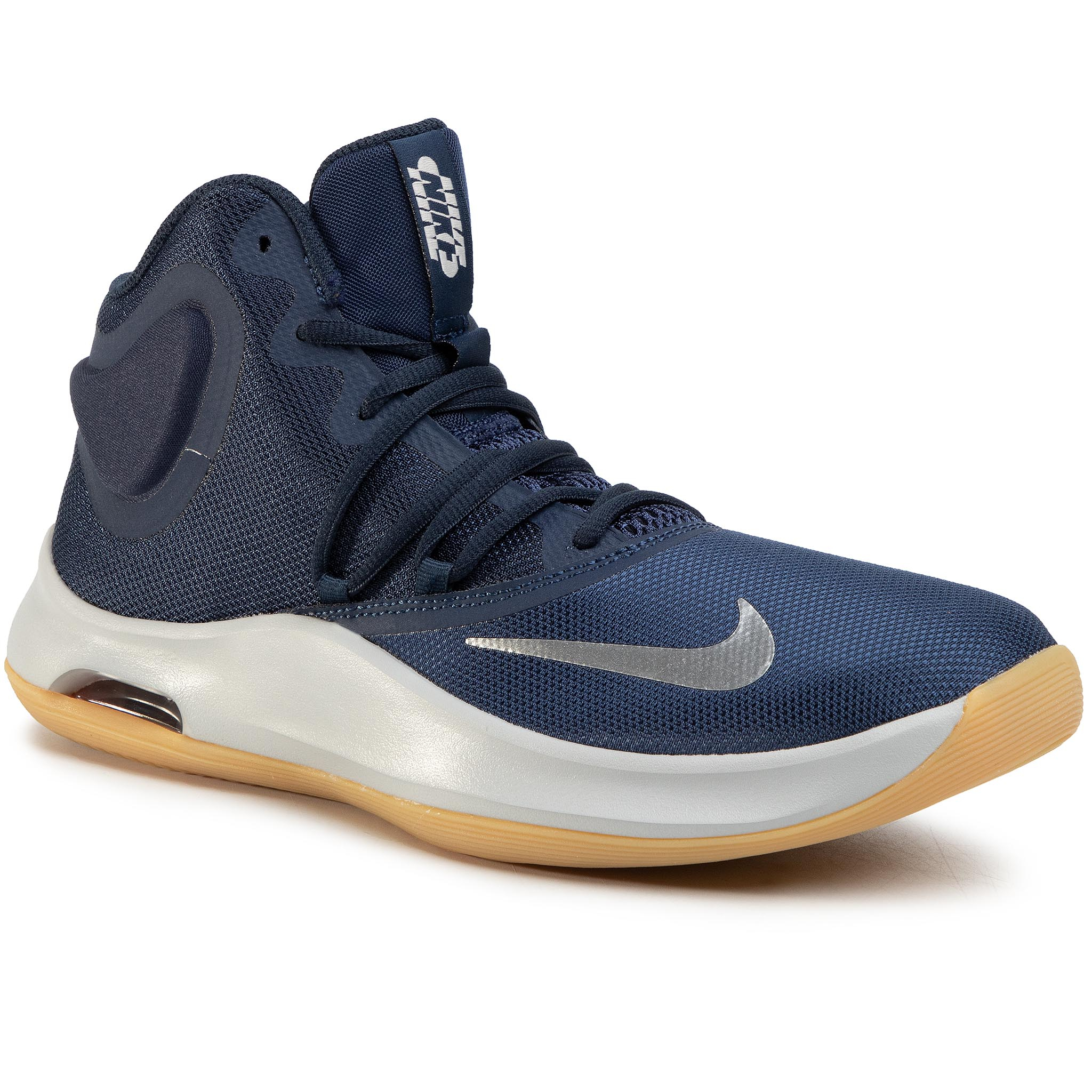 Pantofi Nike - Air Versitile Iv At1199 400 Midnight Navy/Metallic Silver imagine