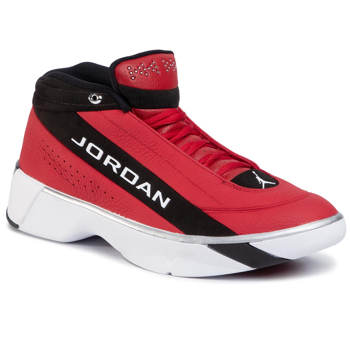 Pantofi Nike - Jordan Team Showcase Cd4150 600 Gym Red/White/Black imagine epantofi.ro 2021