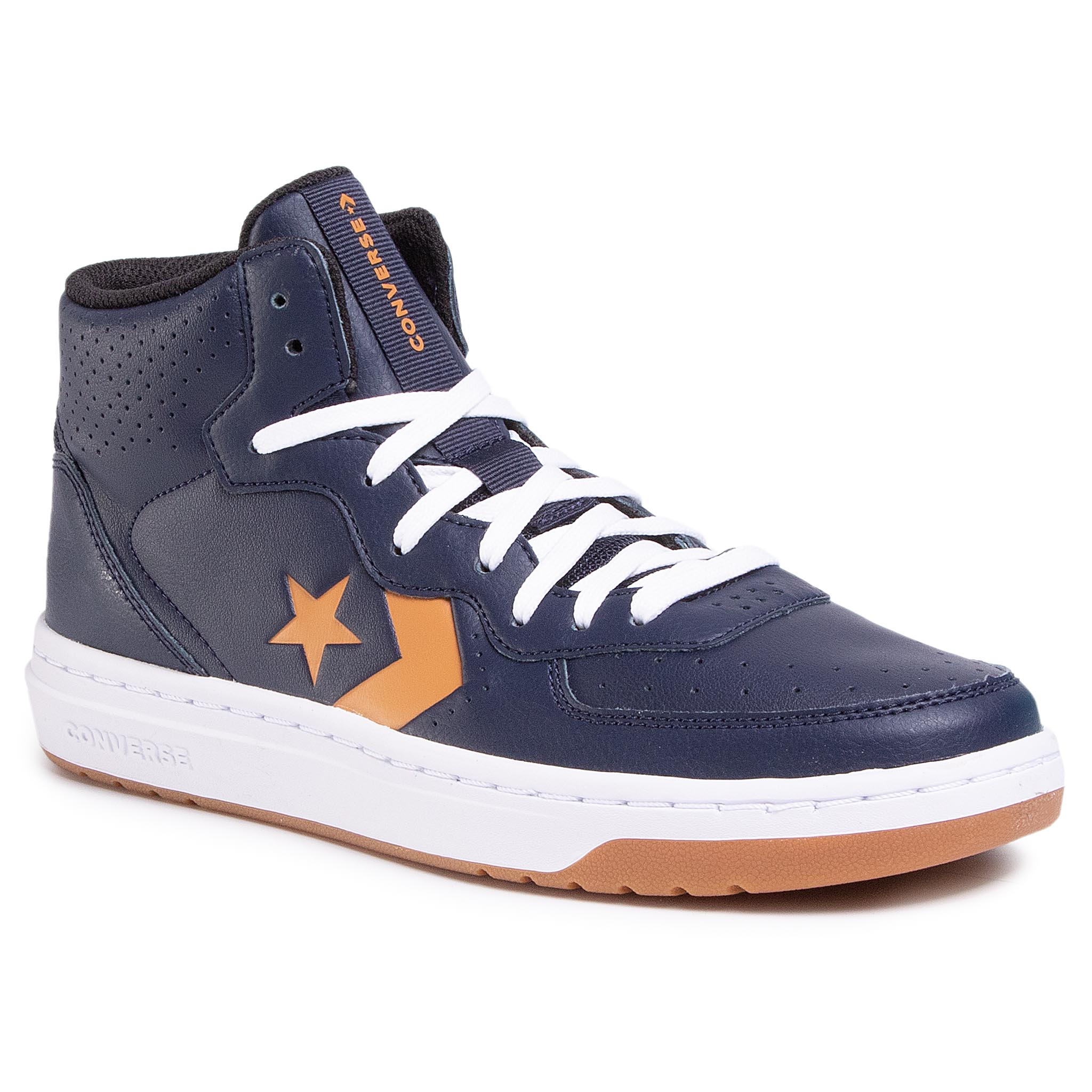 Sneakers CONVERSE - Rival Mid 167883C Obsidian/Golden Tan/White