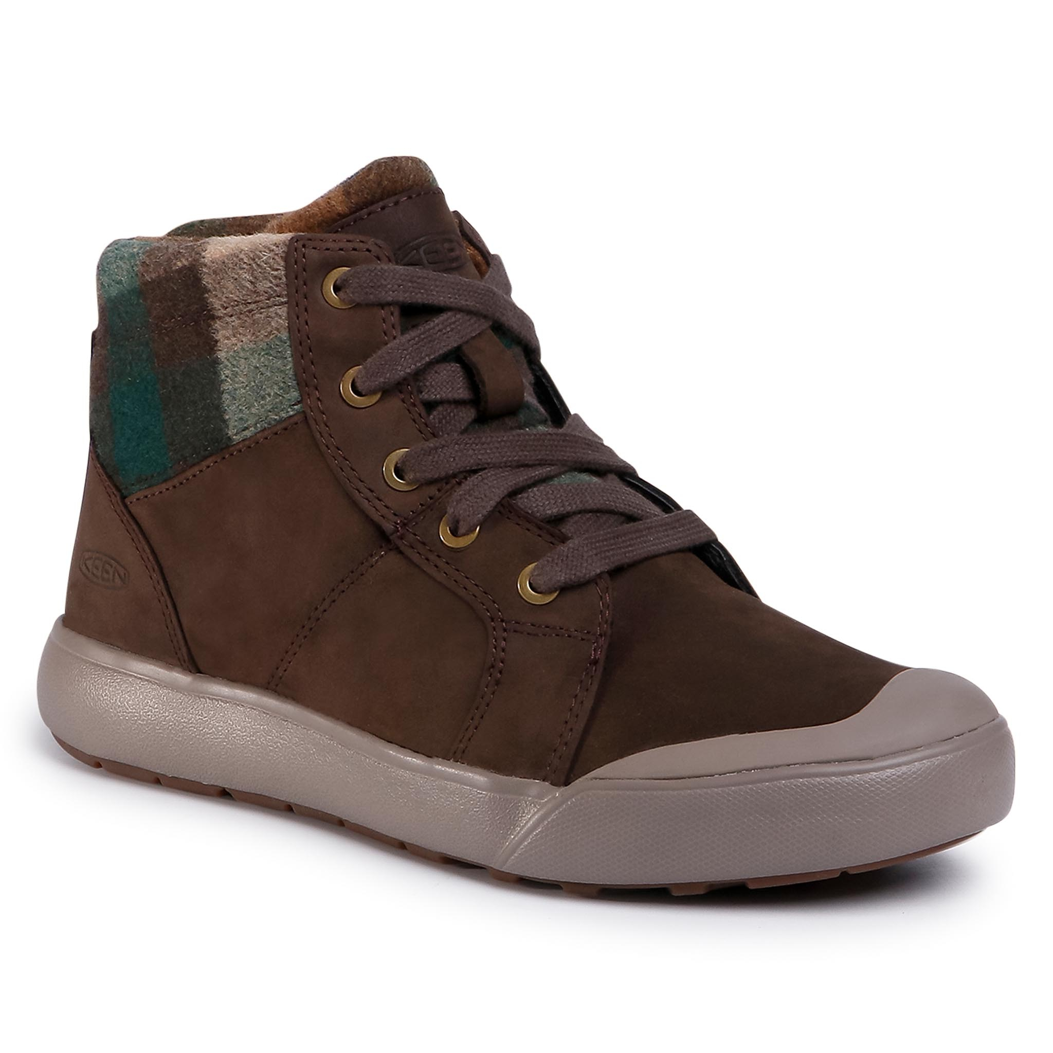 Sneakers KEEN - Elena Mid 1022035 Brown