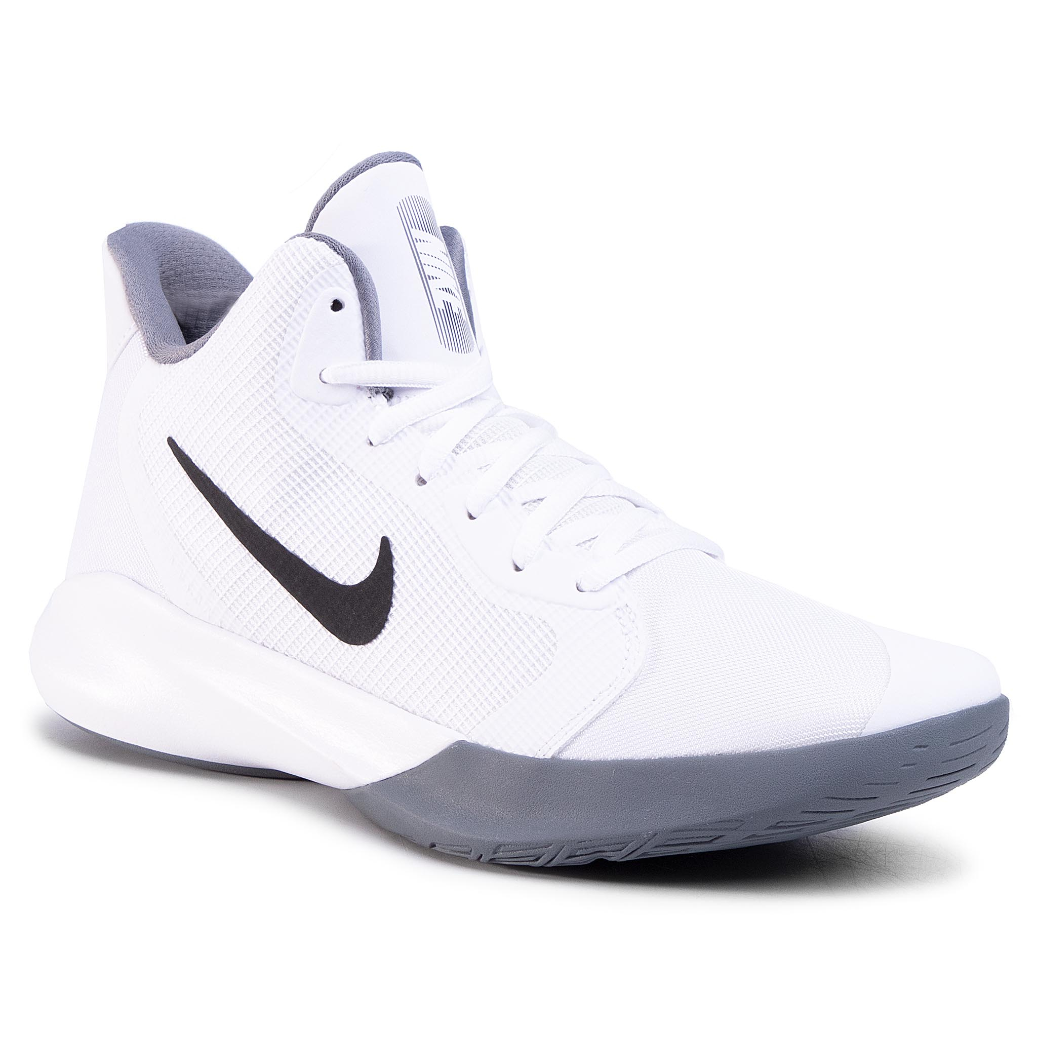 Pantofi Nike - Precision Iii Aq7495 100 White/Black imagine