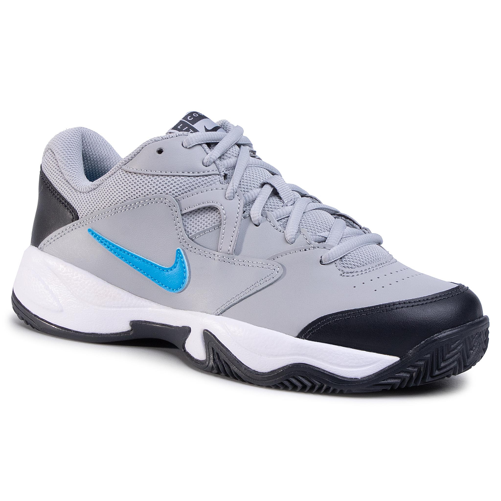 Pantofi Nike - Court Lite 2 Cly Cd0392 011 Lt Smoke Grey/Blue Hero imagine epantofi.ro 2021