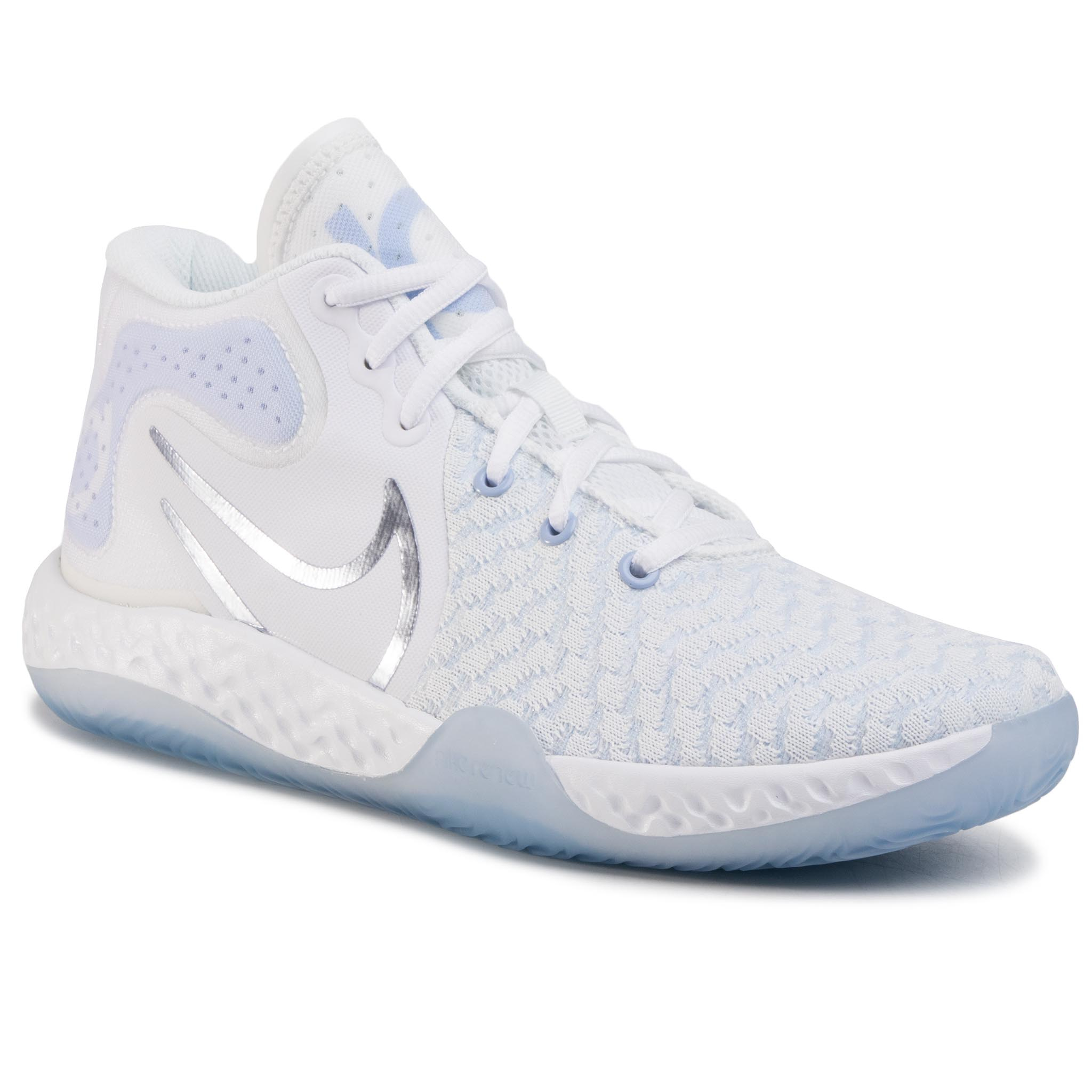 Pantofi Nike - Kd Trey 5 Viii Ck2090 100 White/Royal Tint imagine