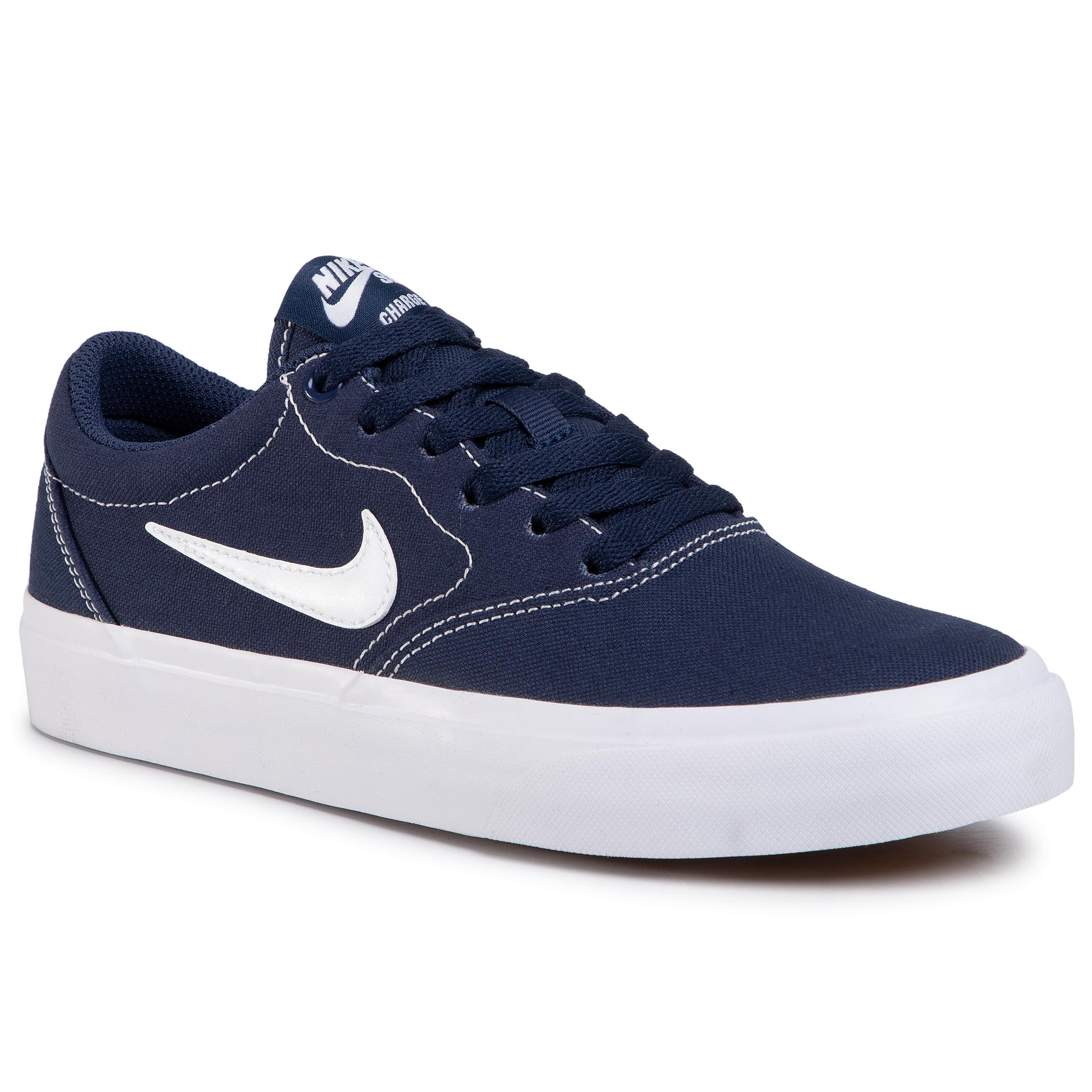 Pantofi Nike - Sb Charge Cnvs (GS) Cq0260 400 Midnight Navy/White imagine epantofi.ro 2021