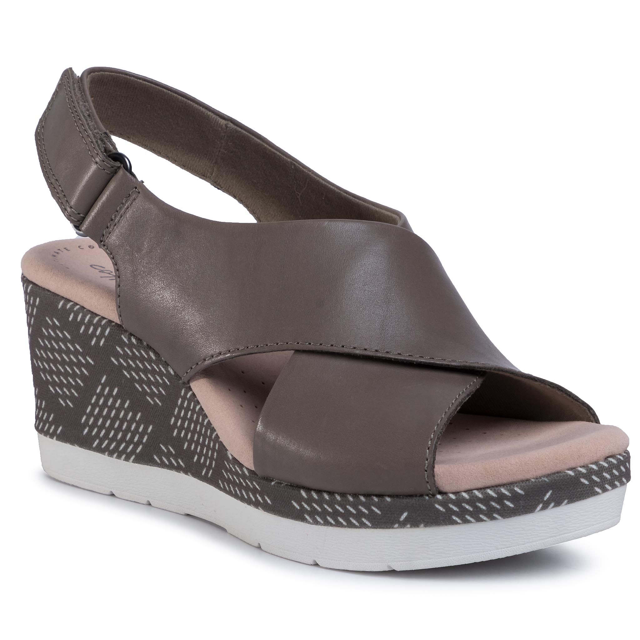 Sandale CLARKS - Cammy Pearl 261399224 Olive