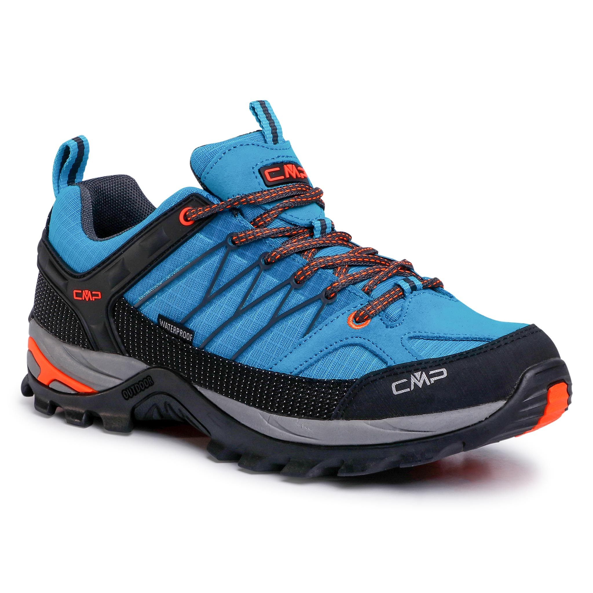 Trekkings Cmp - Rigel Low Trekking Shoe Wp 3q54457 Rif/Antracite 13le imagine epantofi.ro 2021