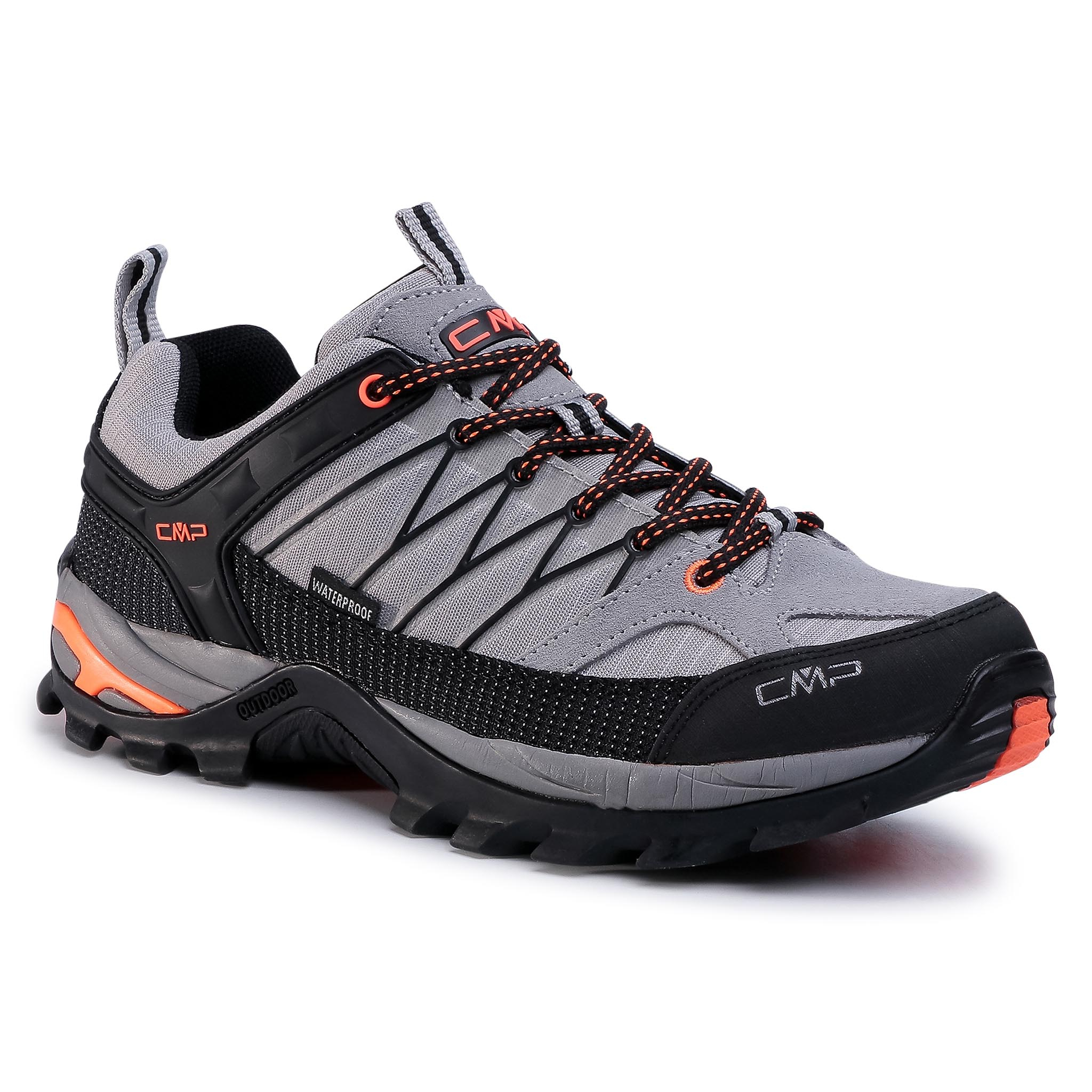 Trekkings Cmp - Rigel Low Trekking Shoes Wp 3q54457 Cemento/Nero 75ue imagine epantofi.ro 2021