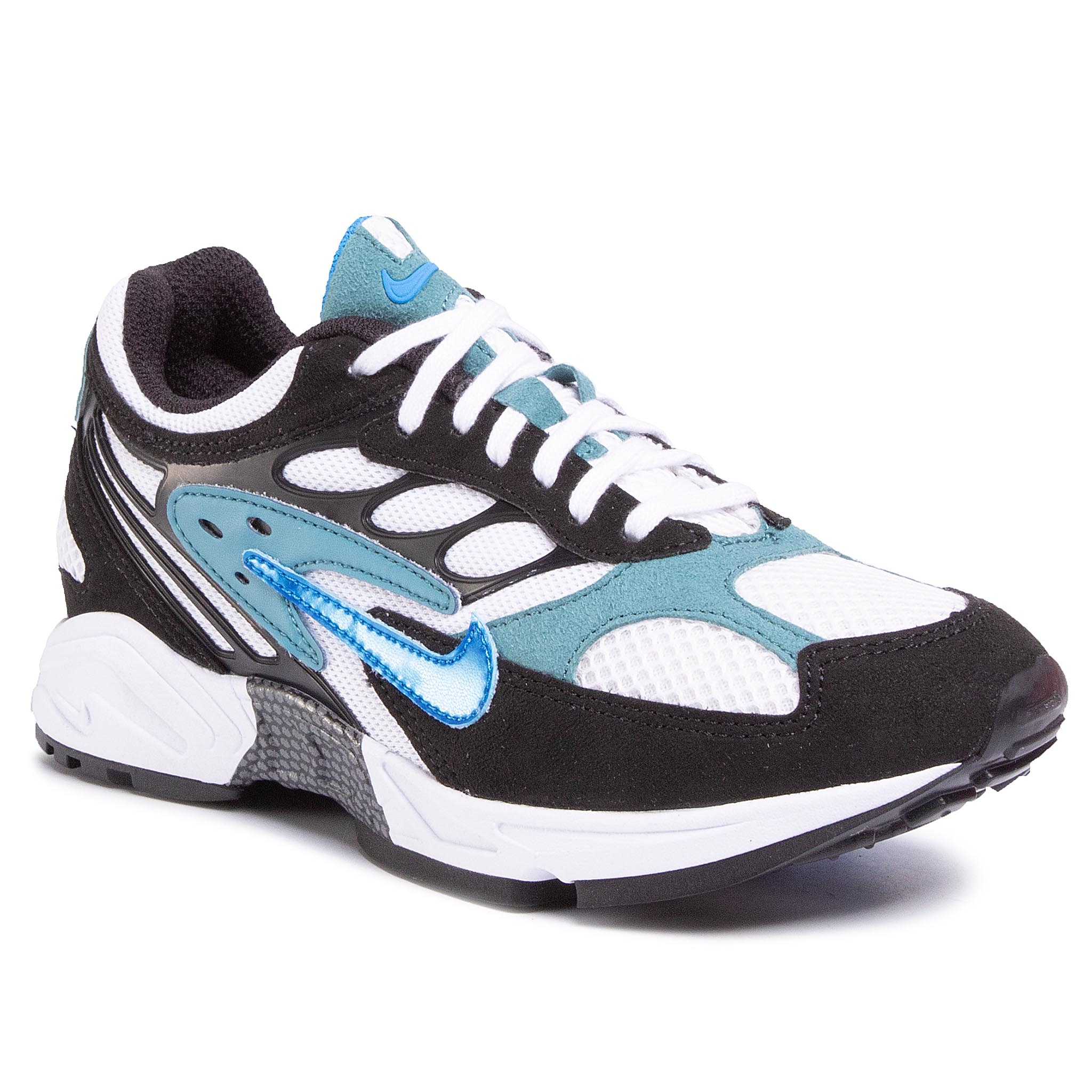 Pantofi NIKE - Nike Air Ghost Racer AT5410 004 Black/Photo Blue/Mineral Teal