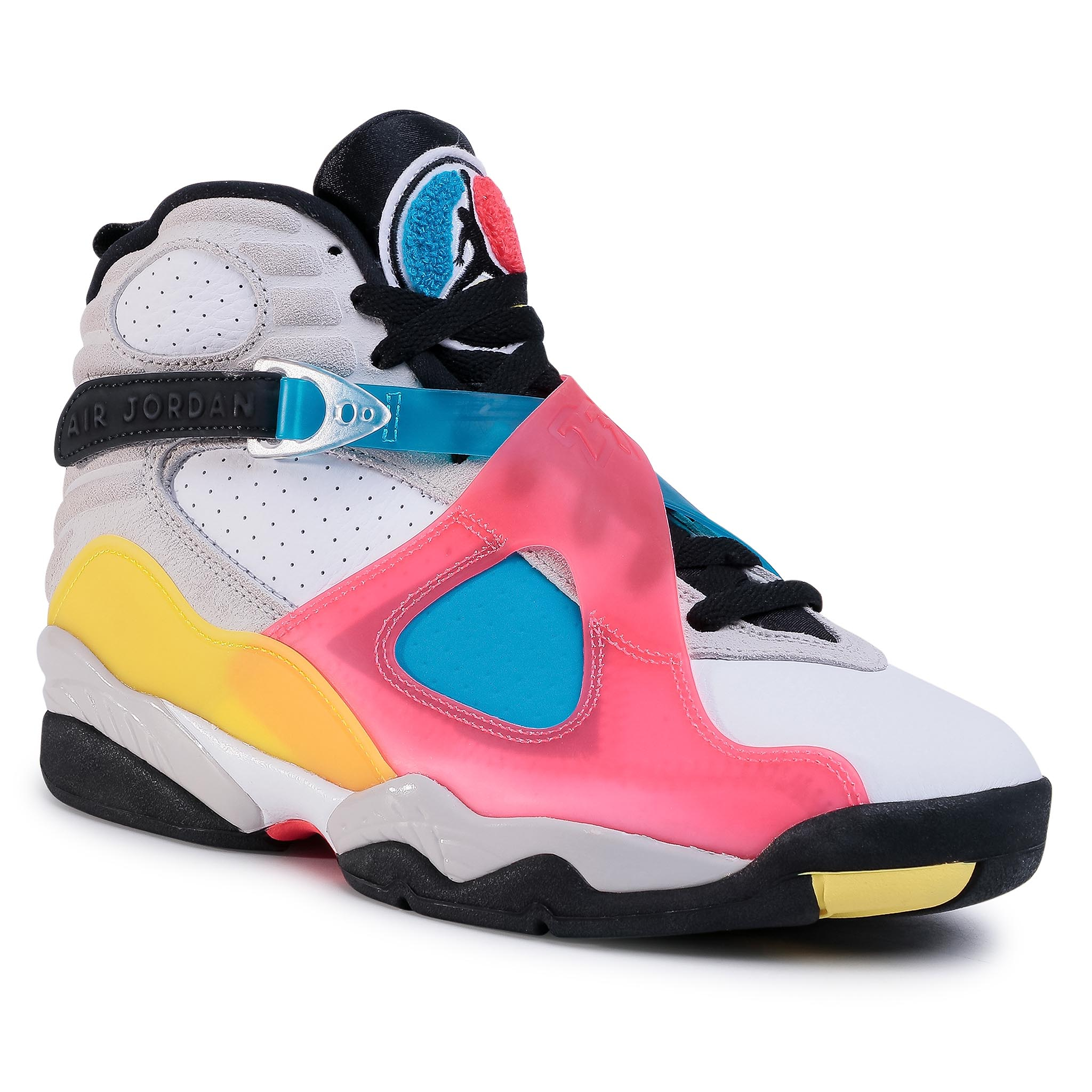 Pantofi Nike - Air Jordan 8 Retro Se Bq7666 100 White/Black/Red Orbit imagine