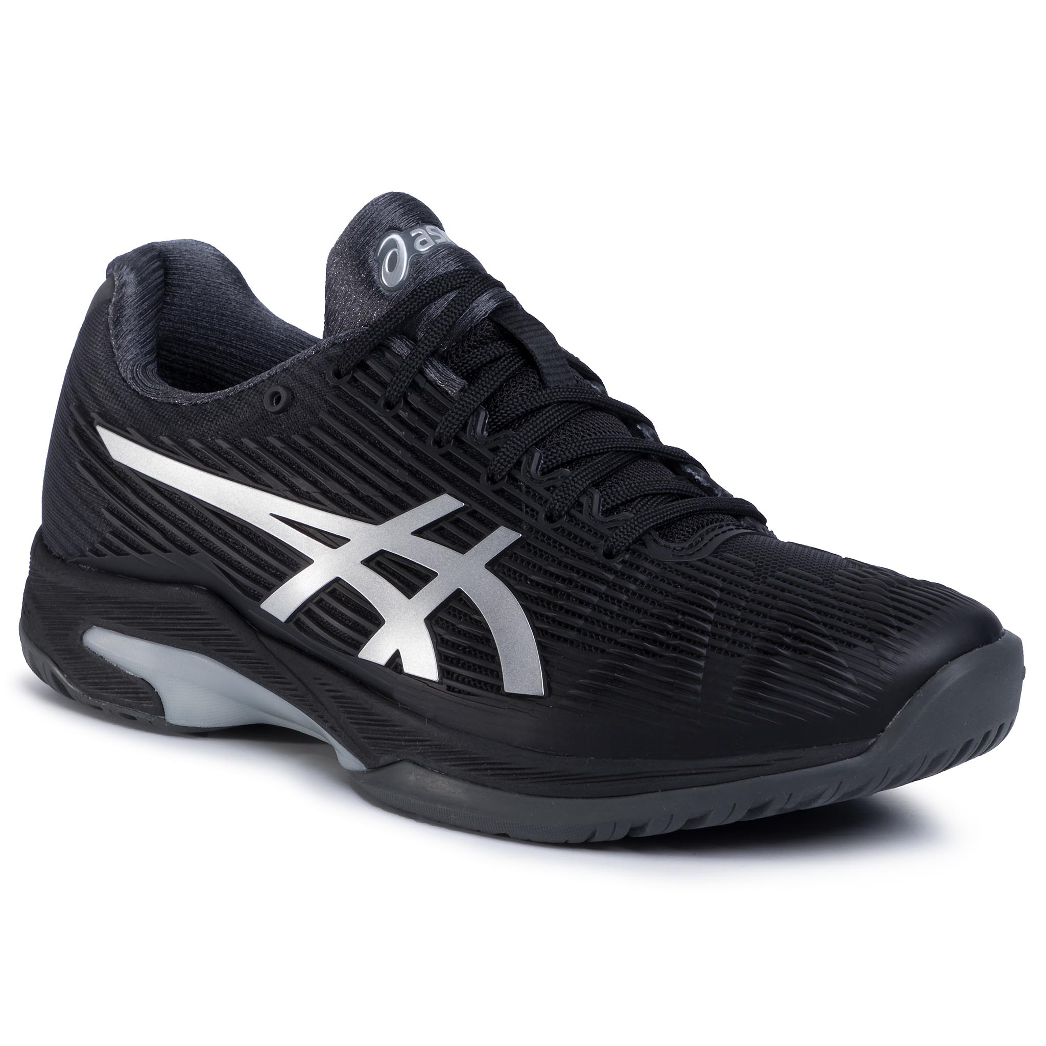 Pantofi Asics - Solution Speed Ff 1041a003 Black/Silver 001 imagine epantofi.ro 2021