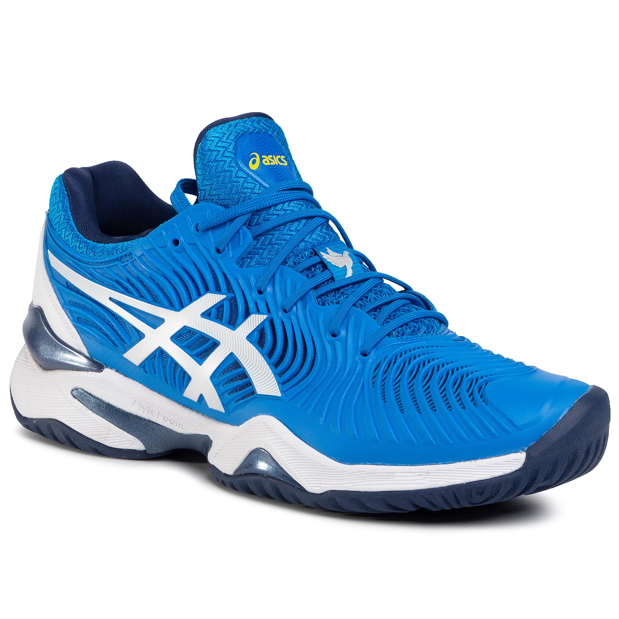Pantofi Asics - Court Ff Novak 1041a089 Electric Blue/White 400 imagine epantofi.ro 2021