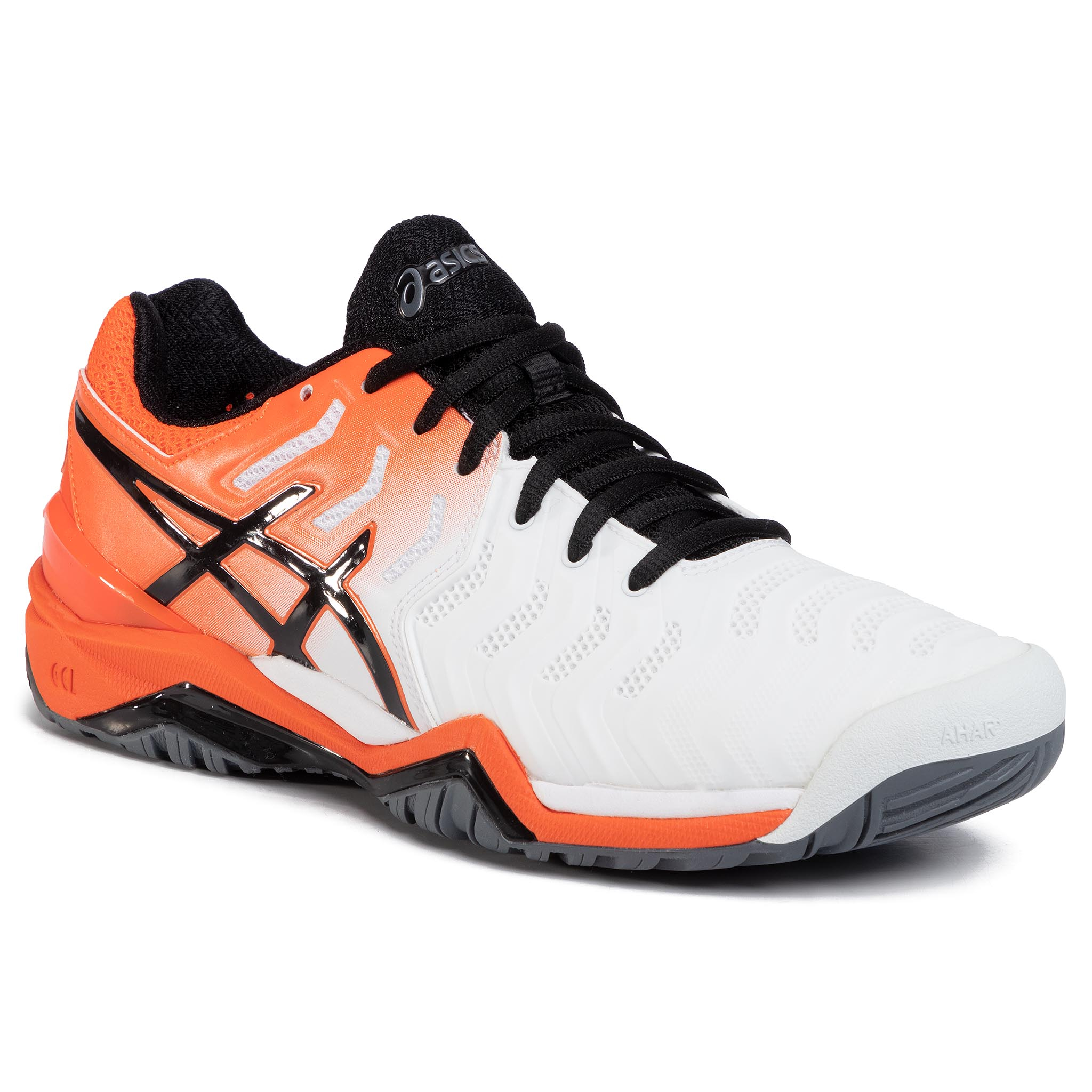 Pantofi Asics - Gel-Resolution 7 E701y White/Koi 100 imagine epantofi.ro 2021