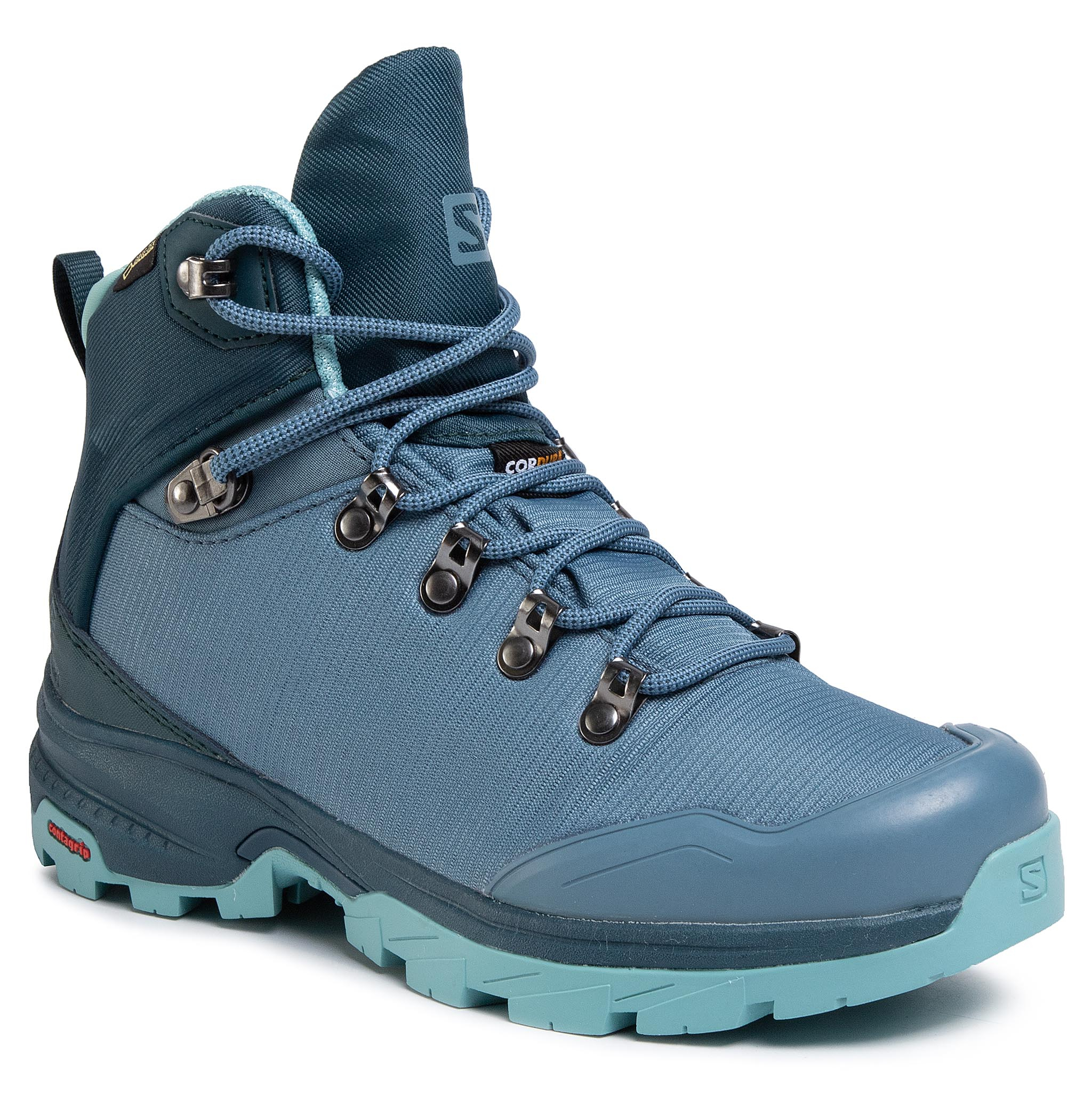 Trekkings Salomon - Outback 500 Gtx W Gore-Tex 406930 20 G0 Bluestone/Reflecting Pond/Nile Blue imagine epantofi.ro 2021