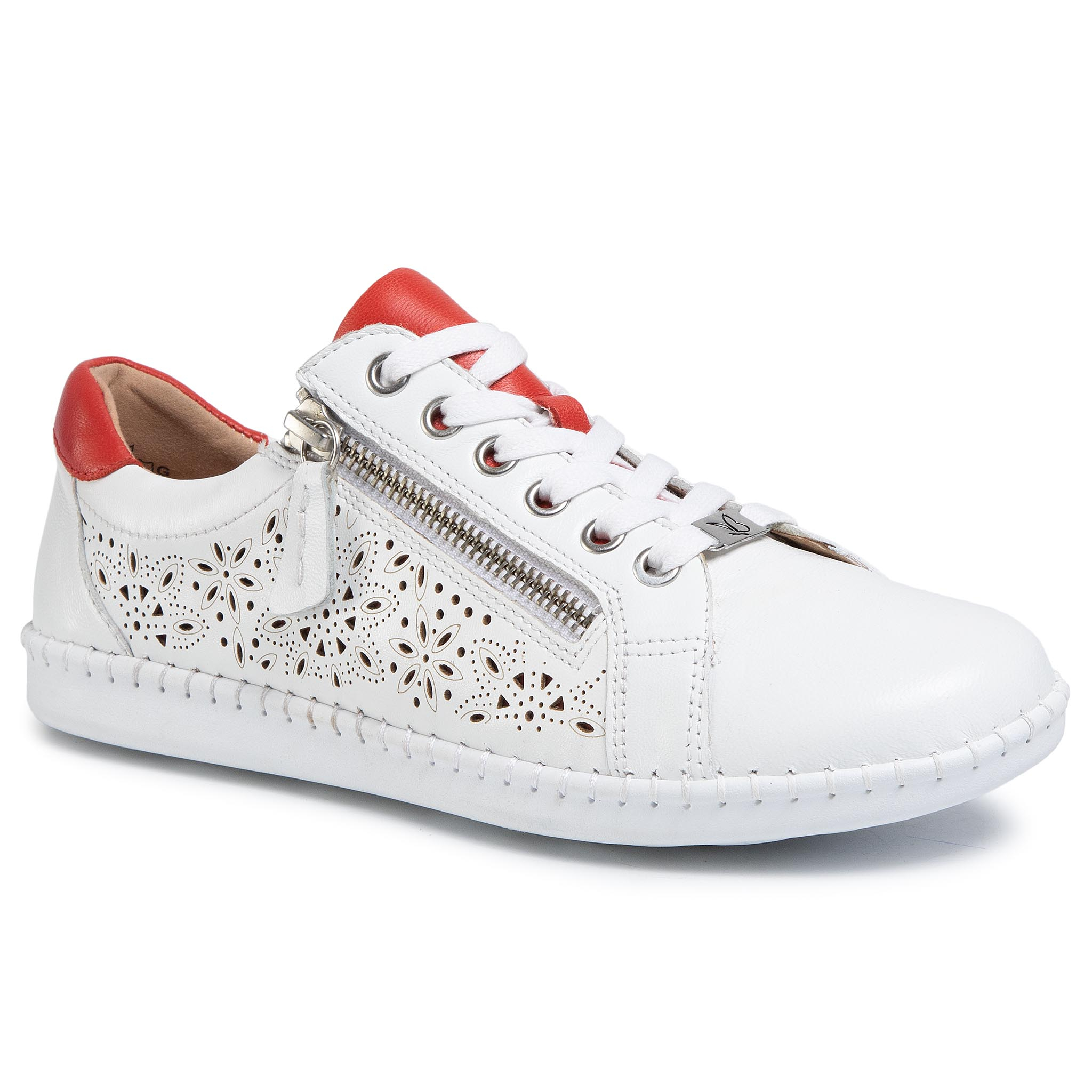 Sneakers CAPRICE - 9-23653-24 White/Red 151