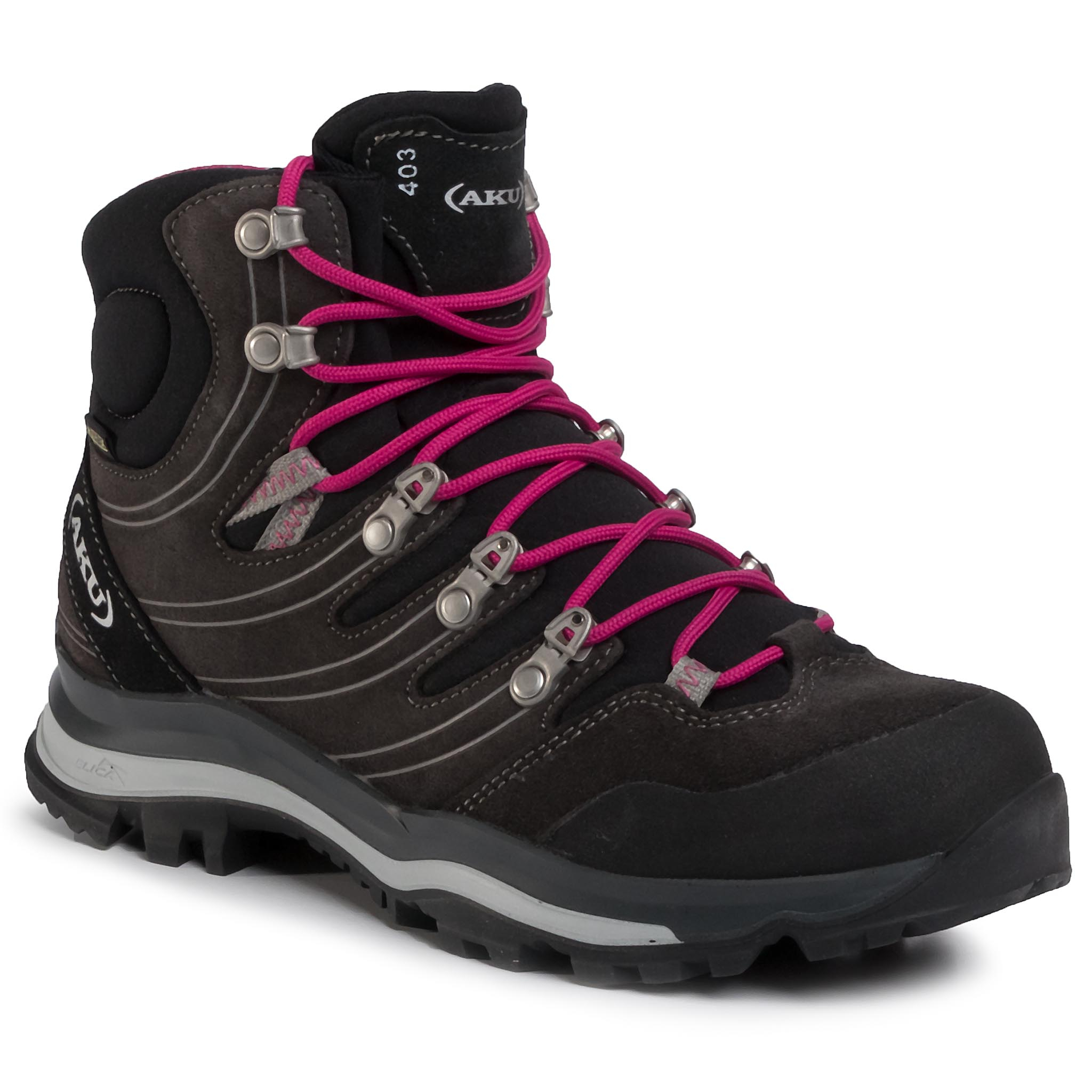 Trekkings Aku - Alterra Gtx W's Gore-Tex 403 Anthr./Magenta 309 imagine epantofi.ro 2021
