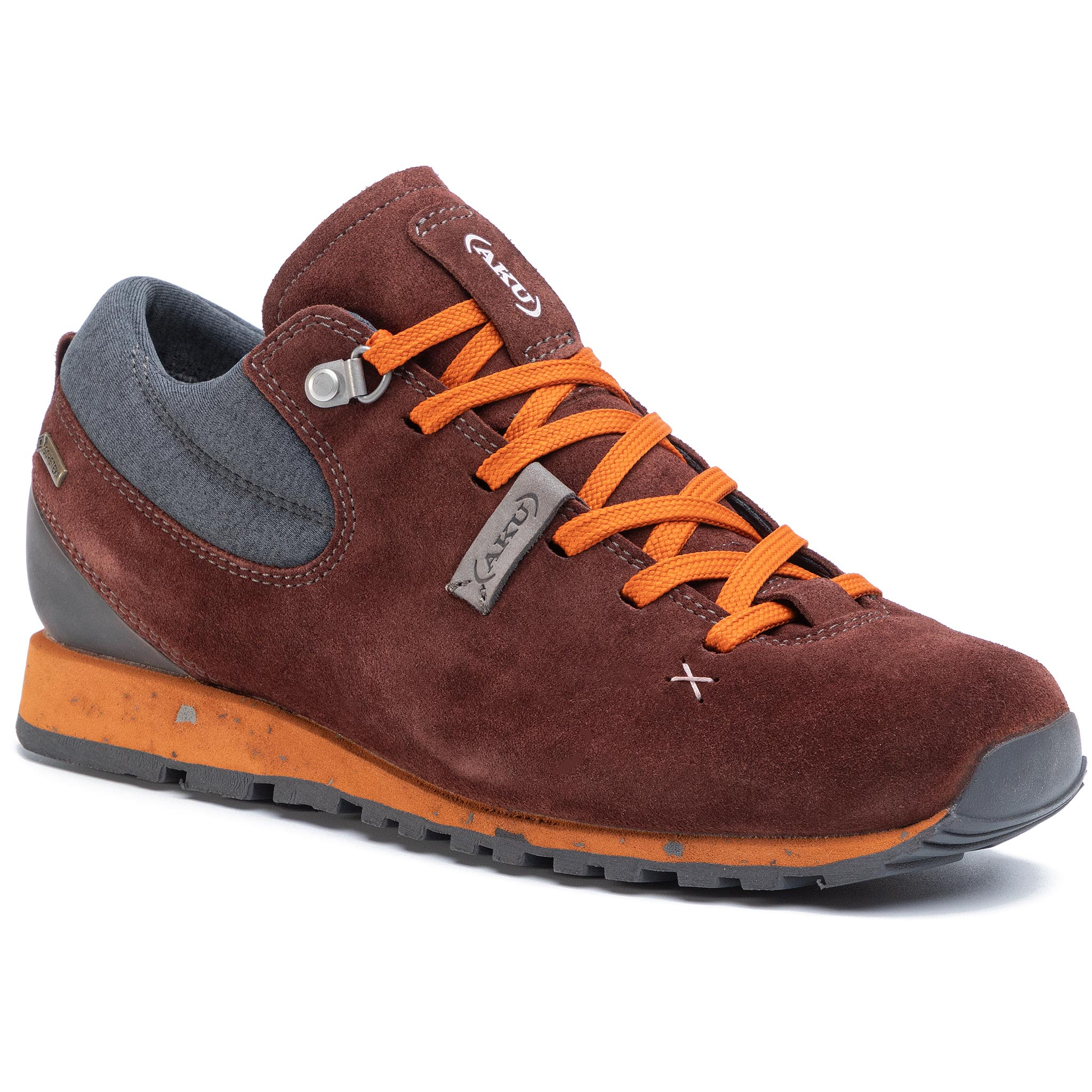 Trekkings Aku - Bellamont Gaia Gt W Gore-Tex 516 Wine Red/Orange 196 imagine epantofi.ro 2021