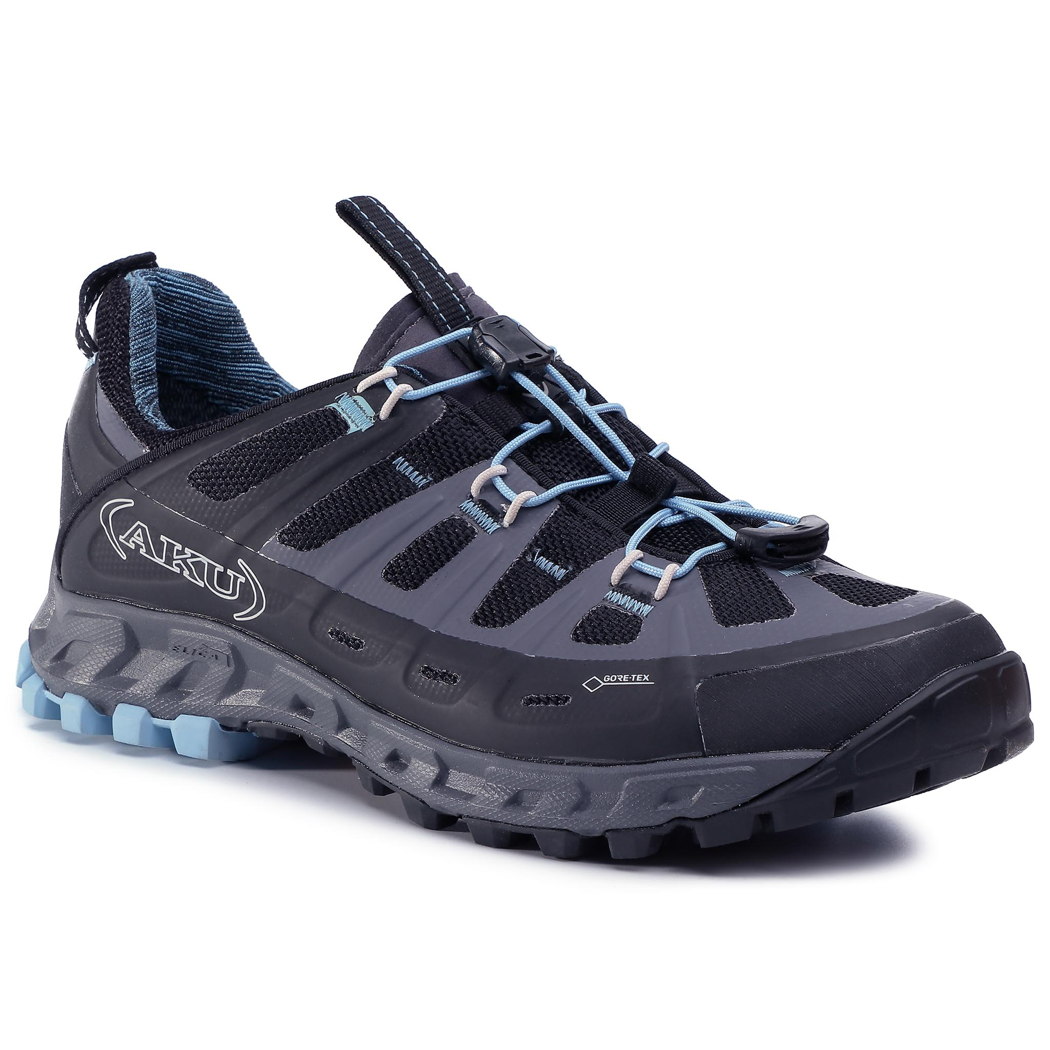 Trekkings Aku - Selvatica Gtx Ws Gore-Tex 679 Black/Light Blue 144 imagine epantofi.ro 2021