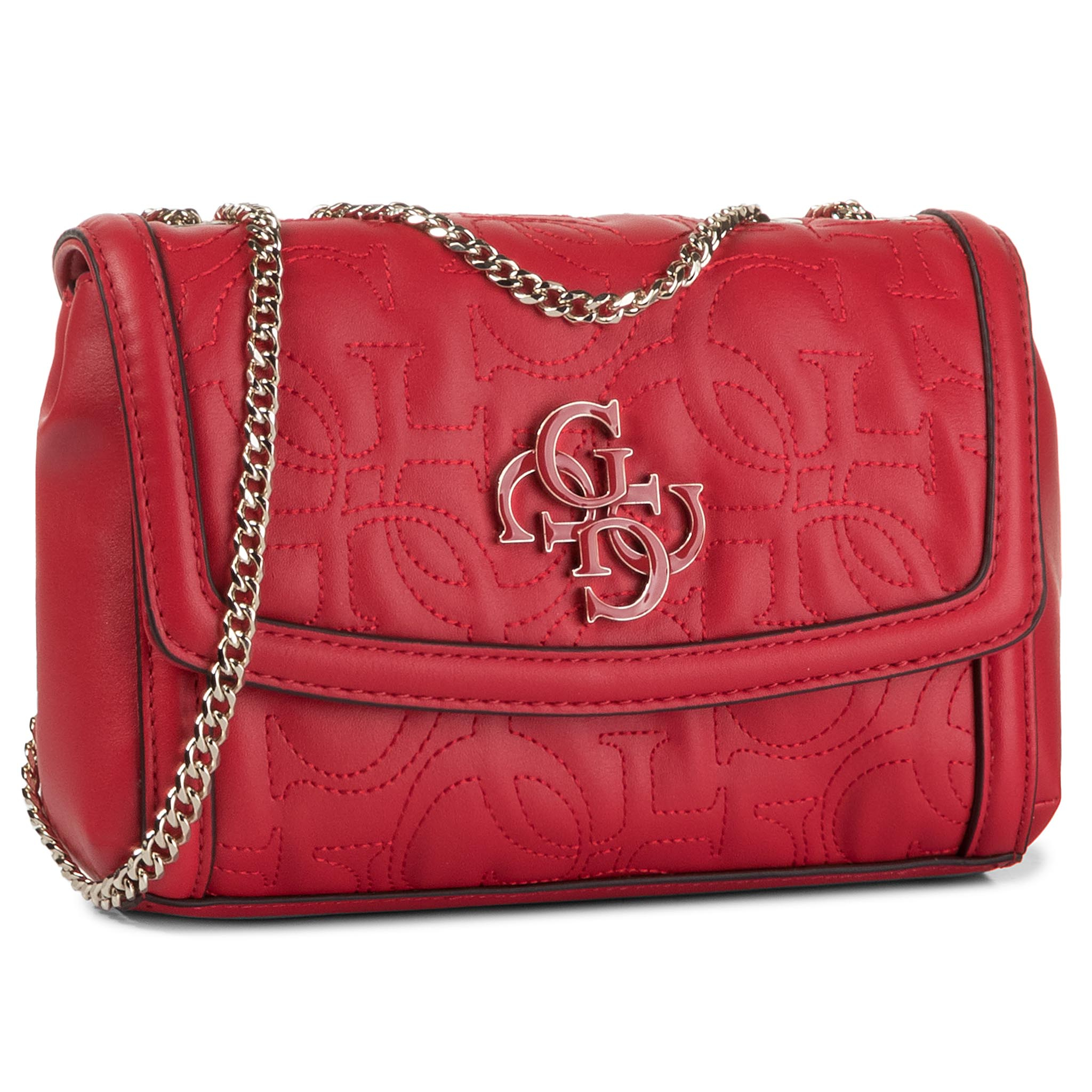 Geantă GUESS - New Wave (VG) Mini HWVG74 75780 RED