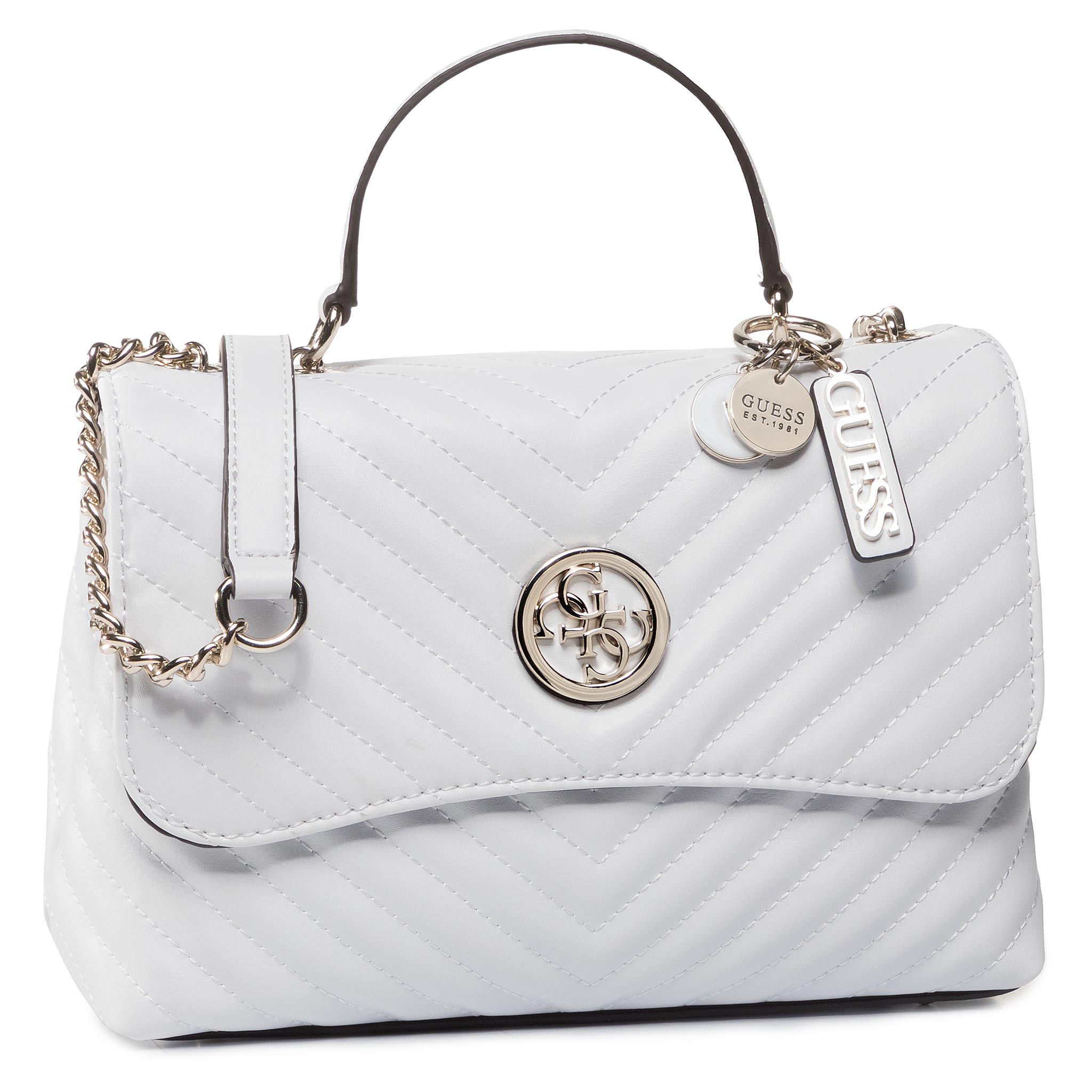 Geantă GUESS - Blakely (VG) HWVG76 63180 WHI