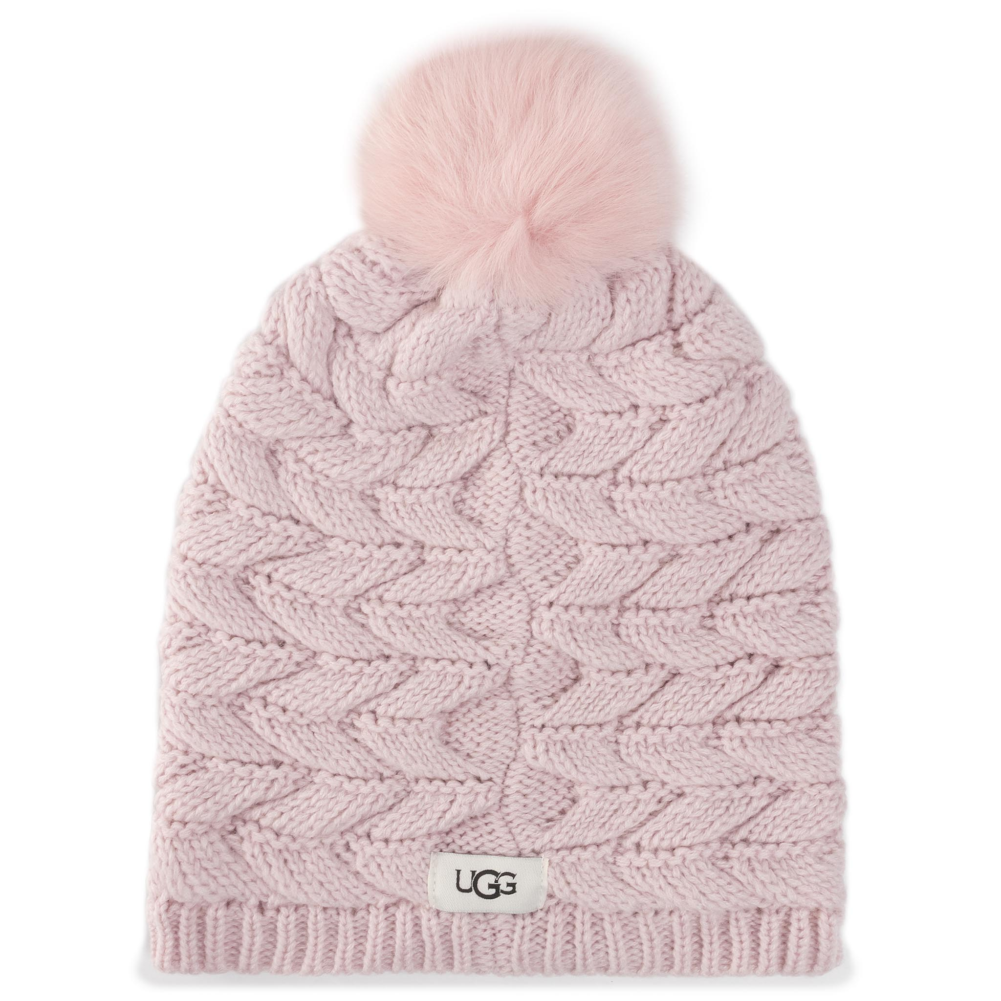 Căciulă UGG - Cable Hat With Pom 18756 Pcry