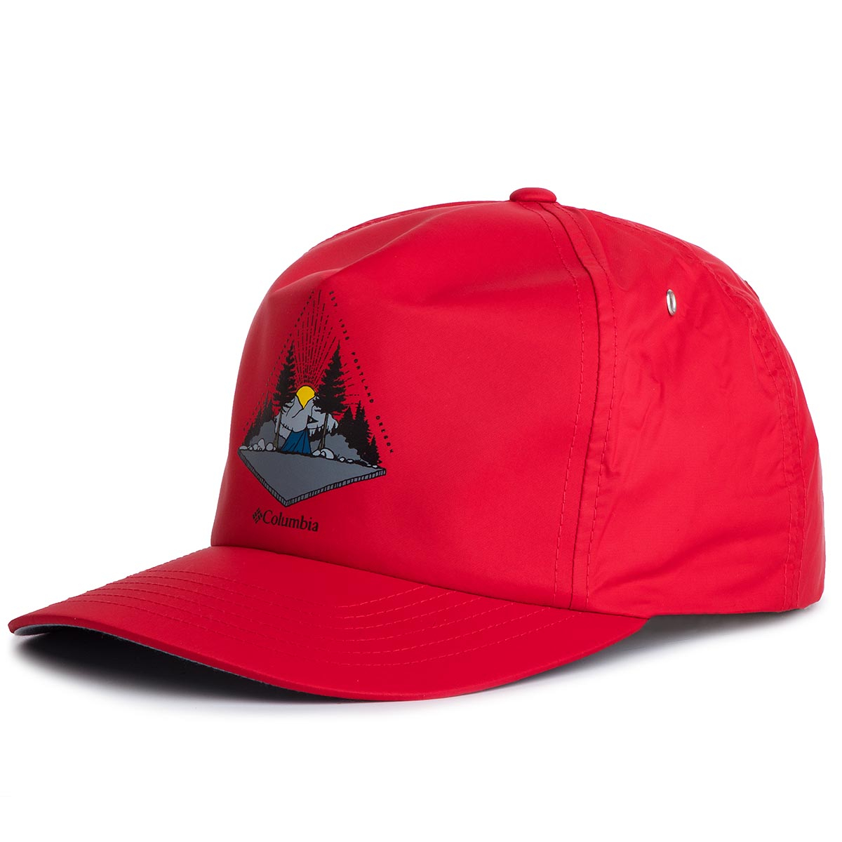Șapcă COLUMBIA - Washed Out Ball Cap 1840061 Red 613