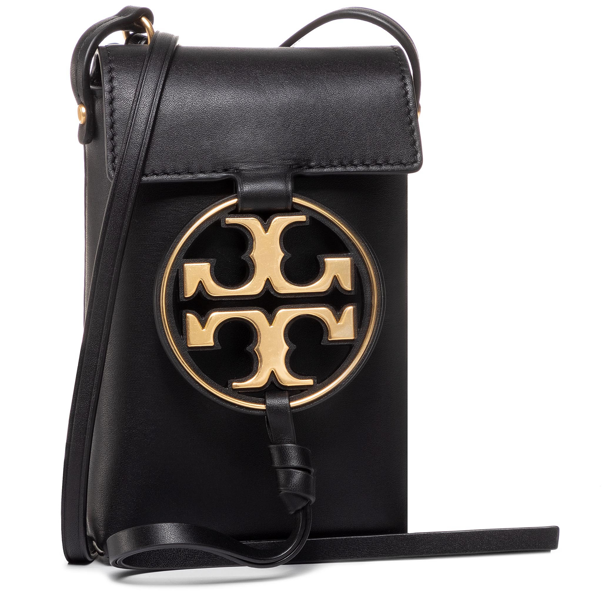 Geantă TORY BURCH - Miller Metal Phone Cross-Body 61183 Black 001