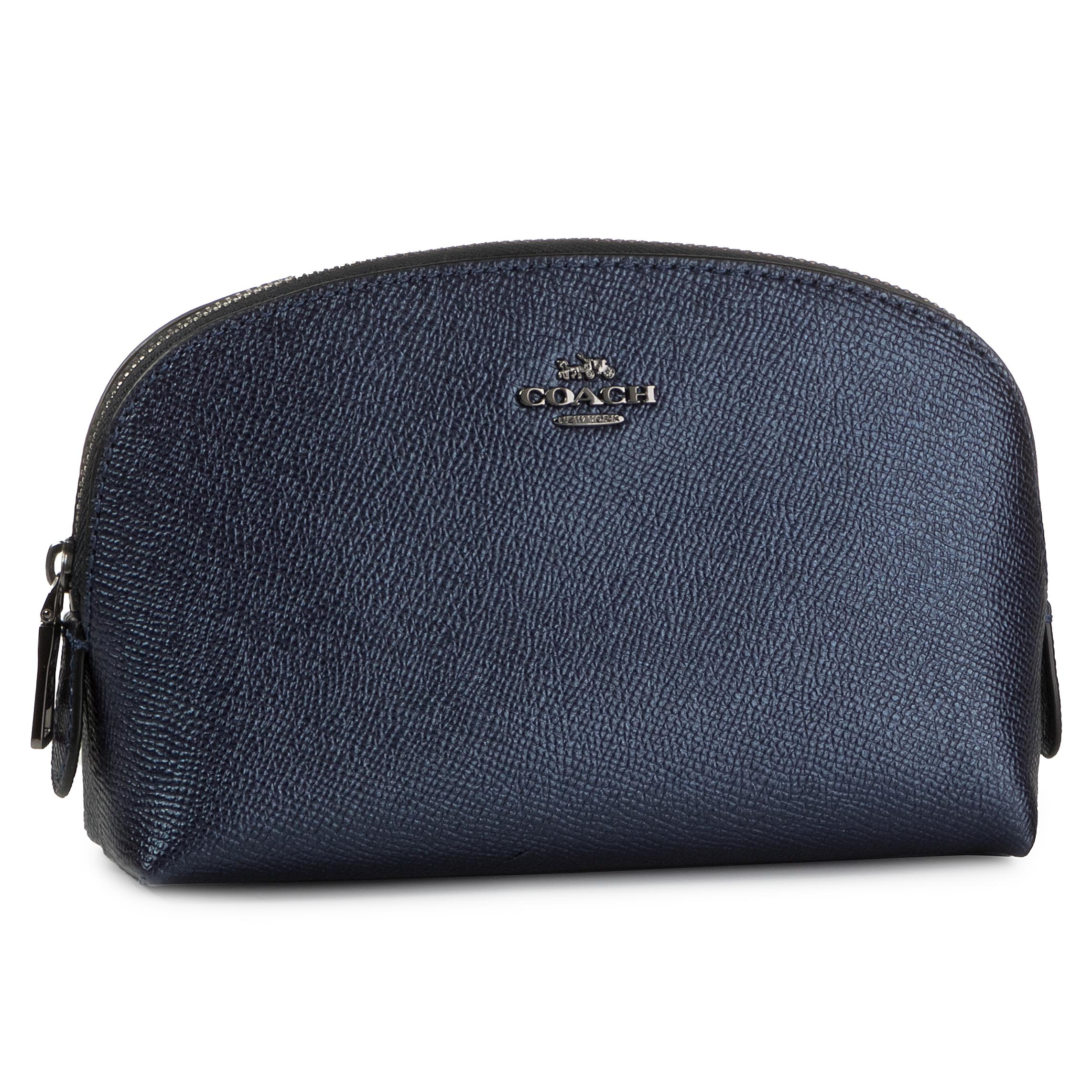 Geantă Pentru Cosmetice Coach - Metlc Cos Cse 17 59957 Gmeck Gm/Metallic Midnight Navy imagine epantofi.ro 2021