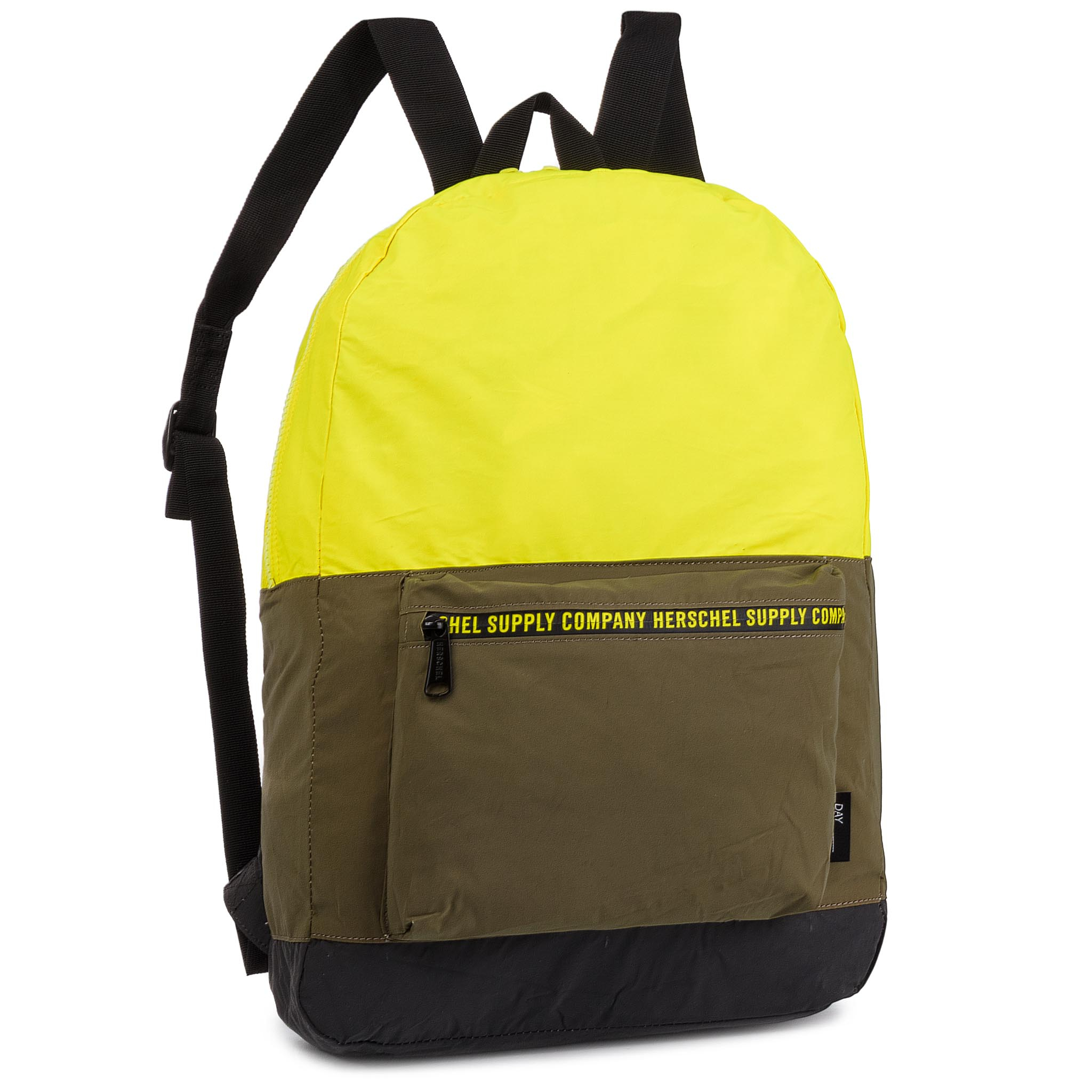 Rucsac Herschel - Day/Night Packable Daypack 10474-02544 Sulfur Spring/Olive Night/Black Reflective imagine epantofi.ro 2021