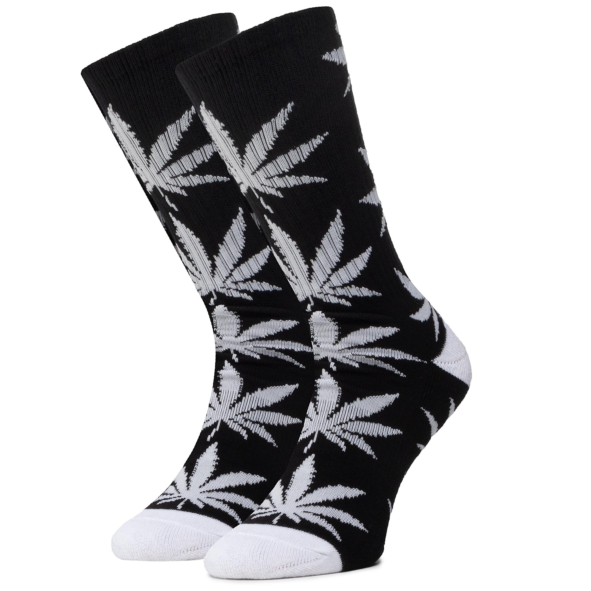 Șosete Înalte Unisex Huf - Essentials Plantlife Sock Sk00298 R.Os Black imagine epantofi.ro 2021