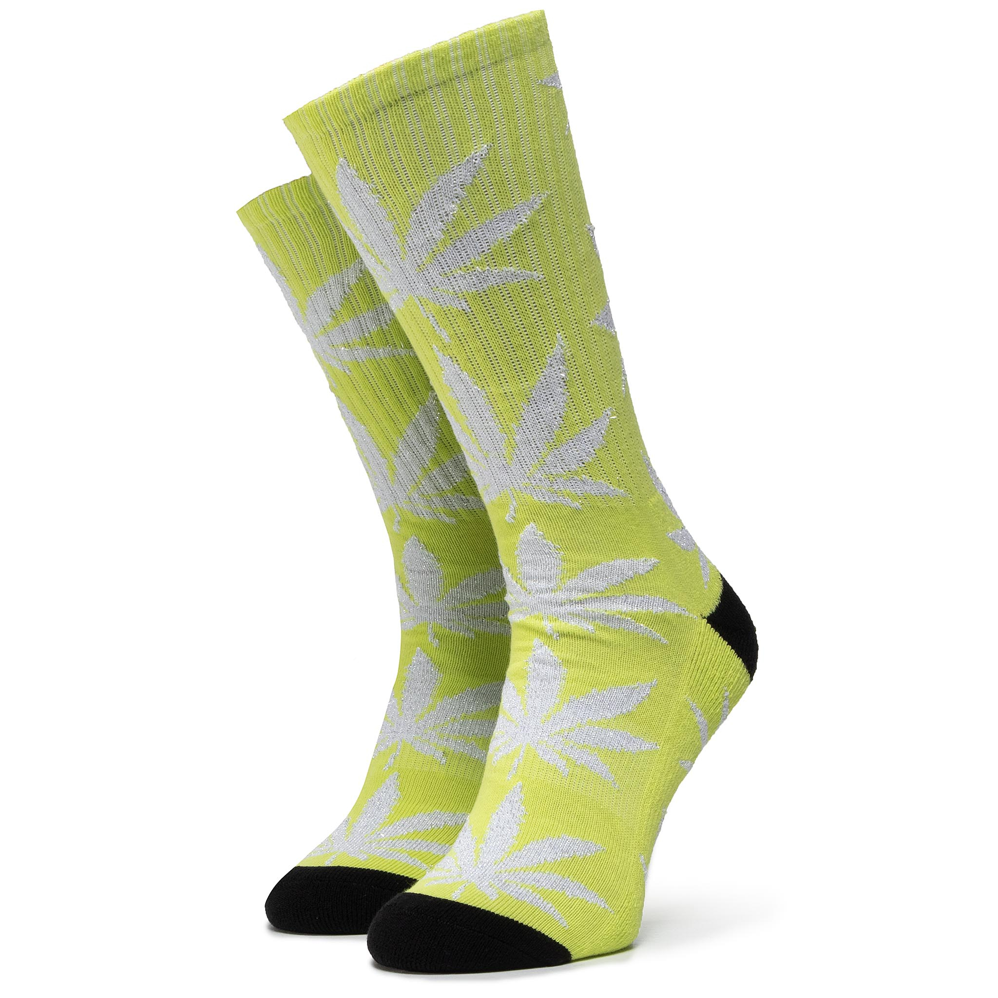 Șosete Lungi De Damă Huf - Plantlife Metallic Leaves Sock Sk00447 R.Os Hot Lime imagine epantofi.ro 2021