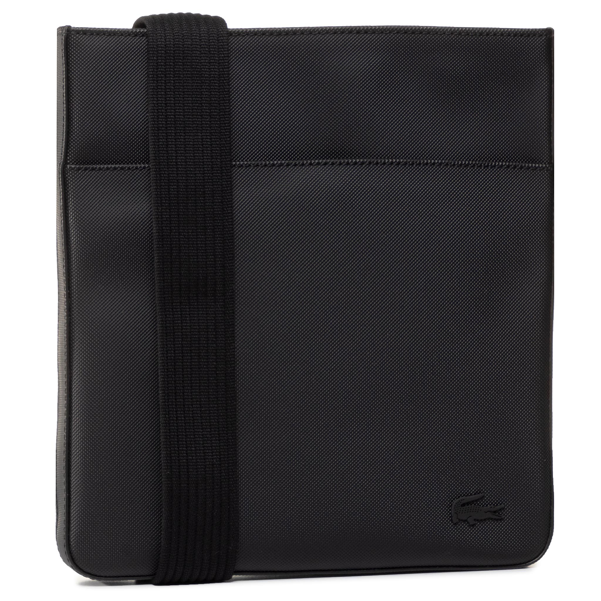 Geantă Crossover Lacoste - Flat Crossover Bag Nh2850hc Black 000 imagine