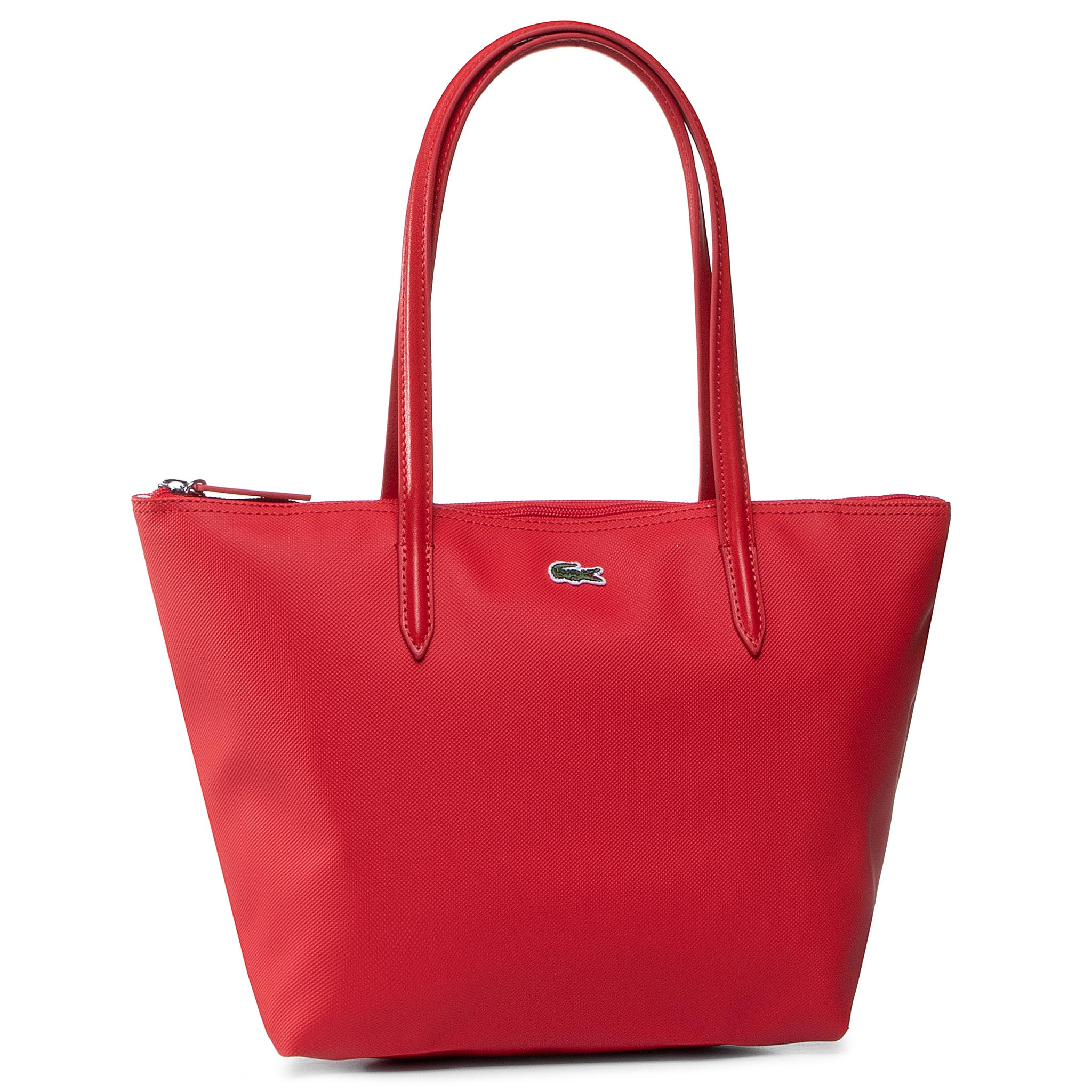 Geantă LACOSTE - S Shopping Bag NF2037PO High Risk Red 883