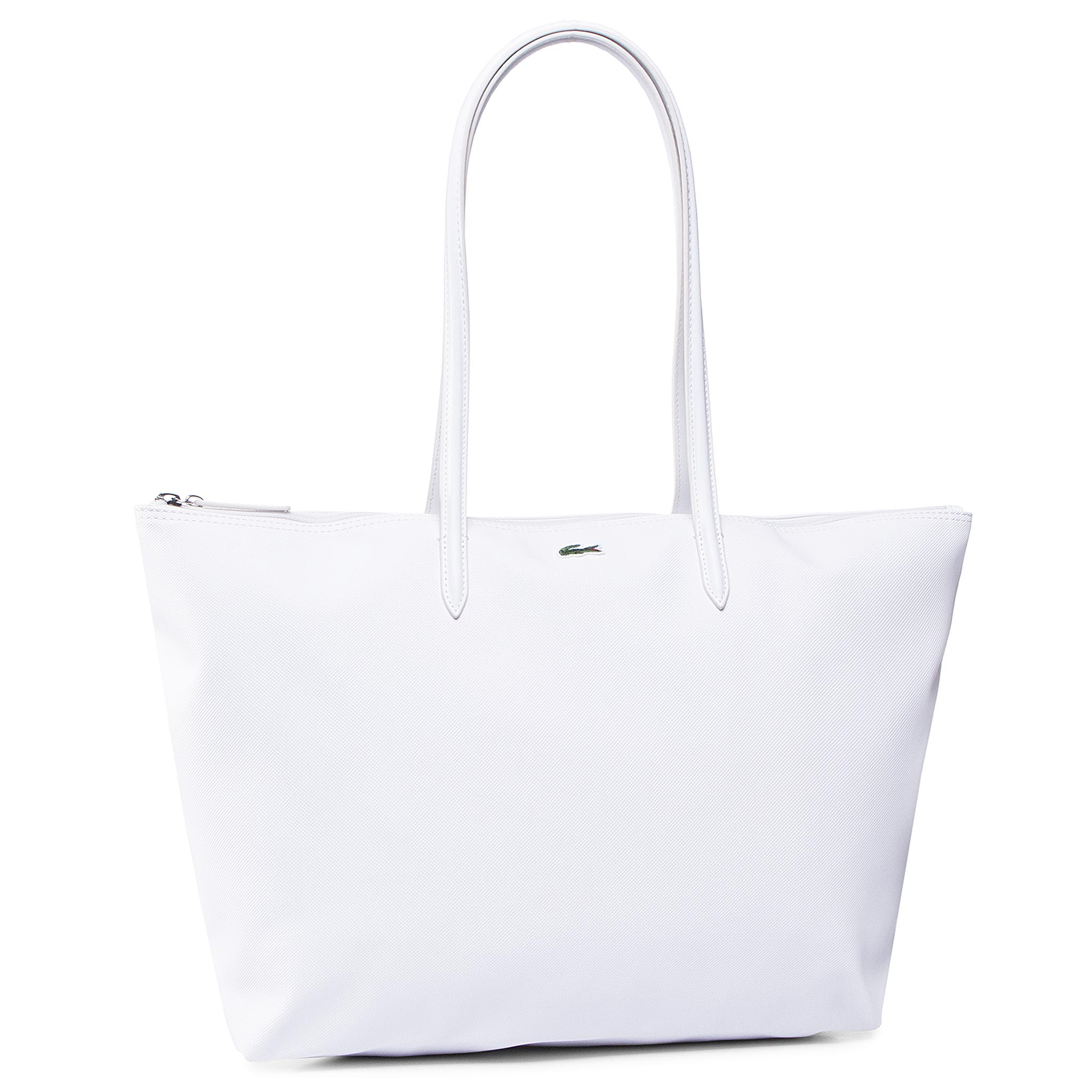 Geantă LACOSTE - L Shopping Bag NF1888PO Bright White 001