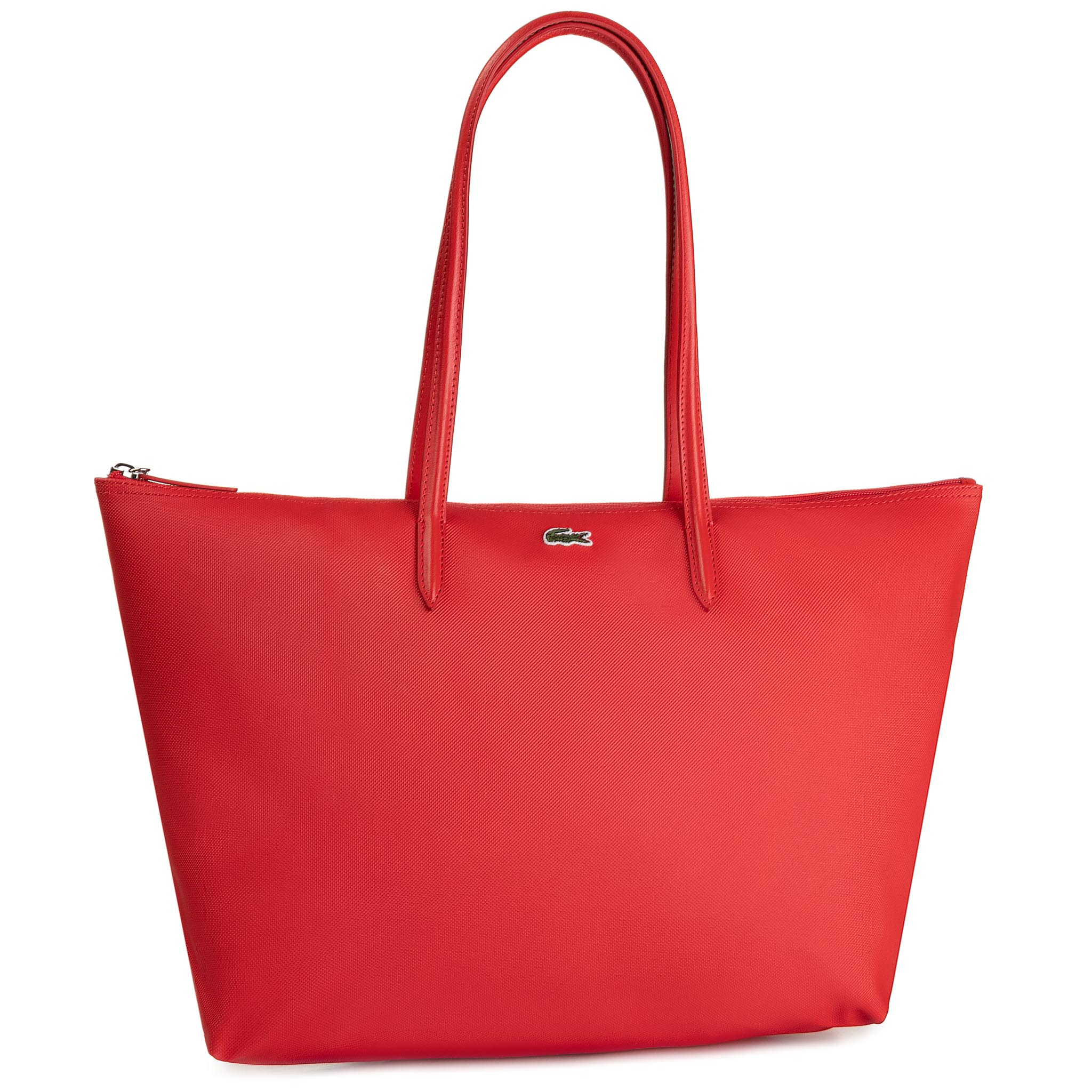 Geantă LACOSTE - L Shopping Bag NF1888PO High Risk Red 883