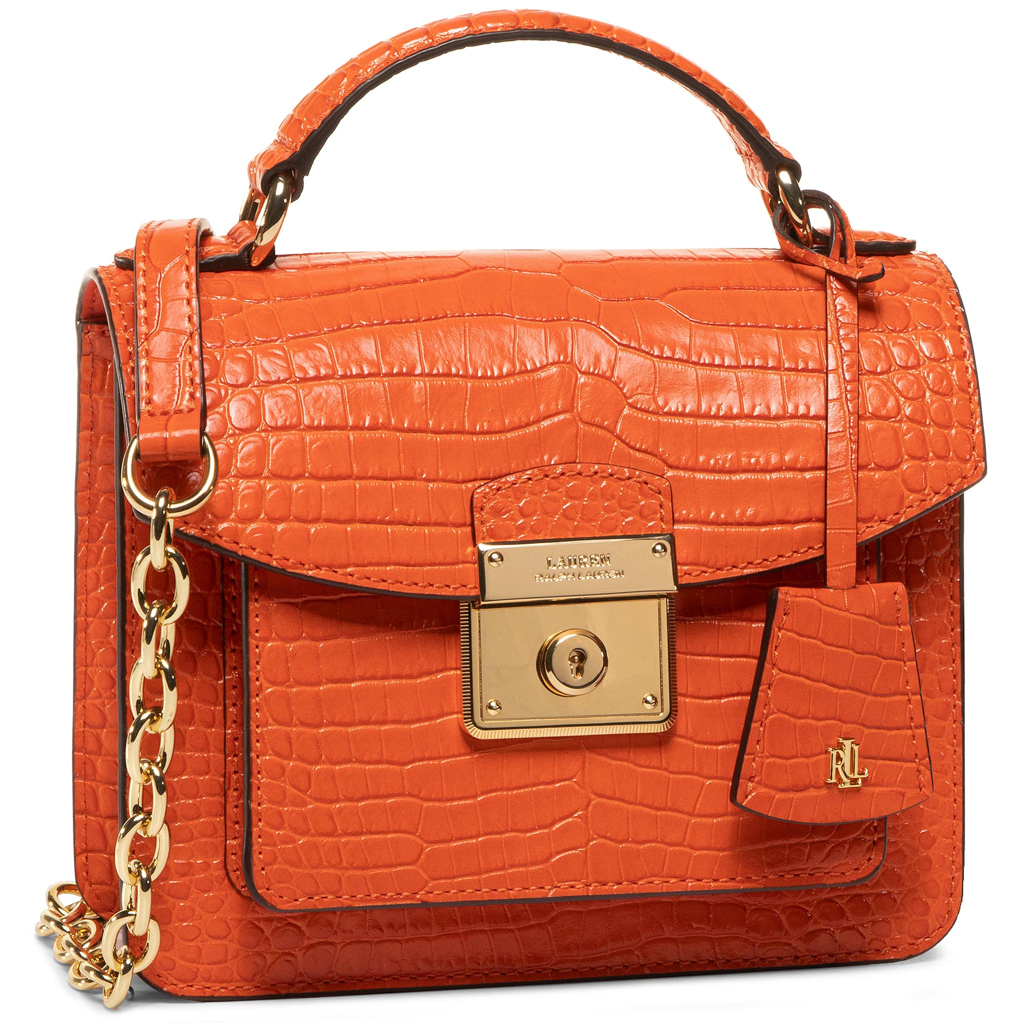 Geantă LAUREN RALPH LAUREN - Beckett 19 431778674003 Sailing Orange
