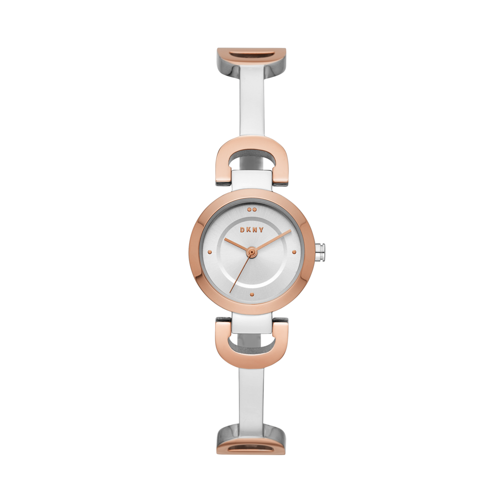 Ceas DKNY - City Link NY2749 Silver/Rose Gold/Rose Gold