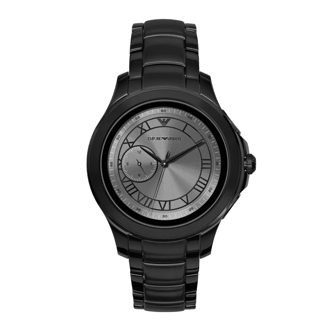 Smartwatch Emporio Armani - Alberto Art5011 Black imagine